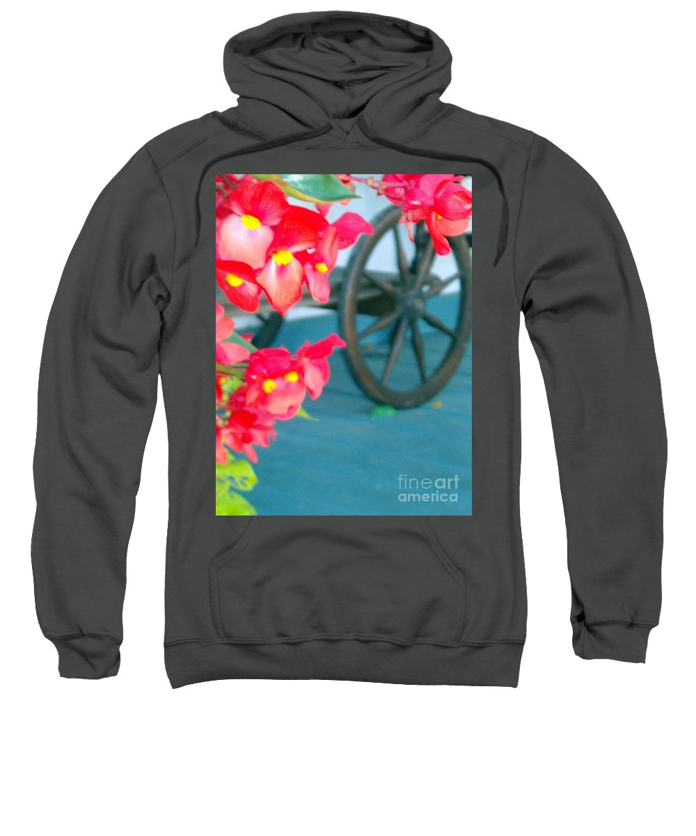 Flowers Sweatshirt featuring the photograph Summer Flowers by Line Gagne