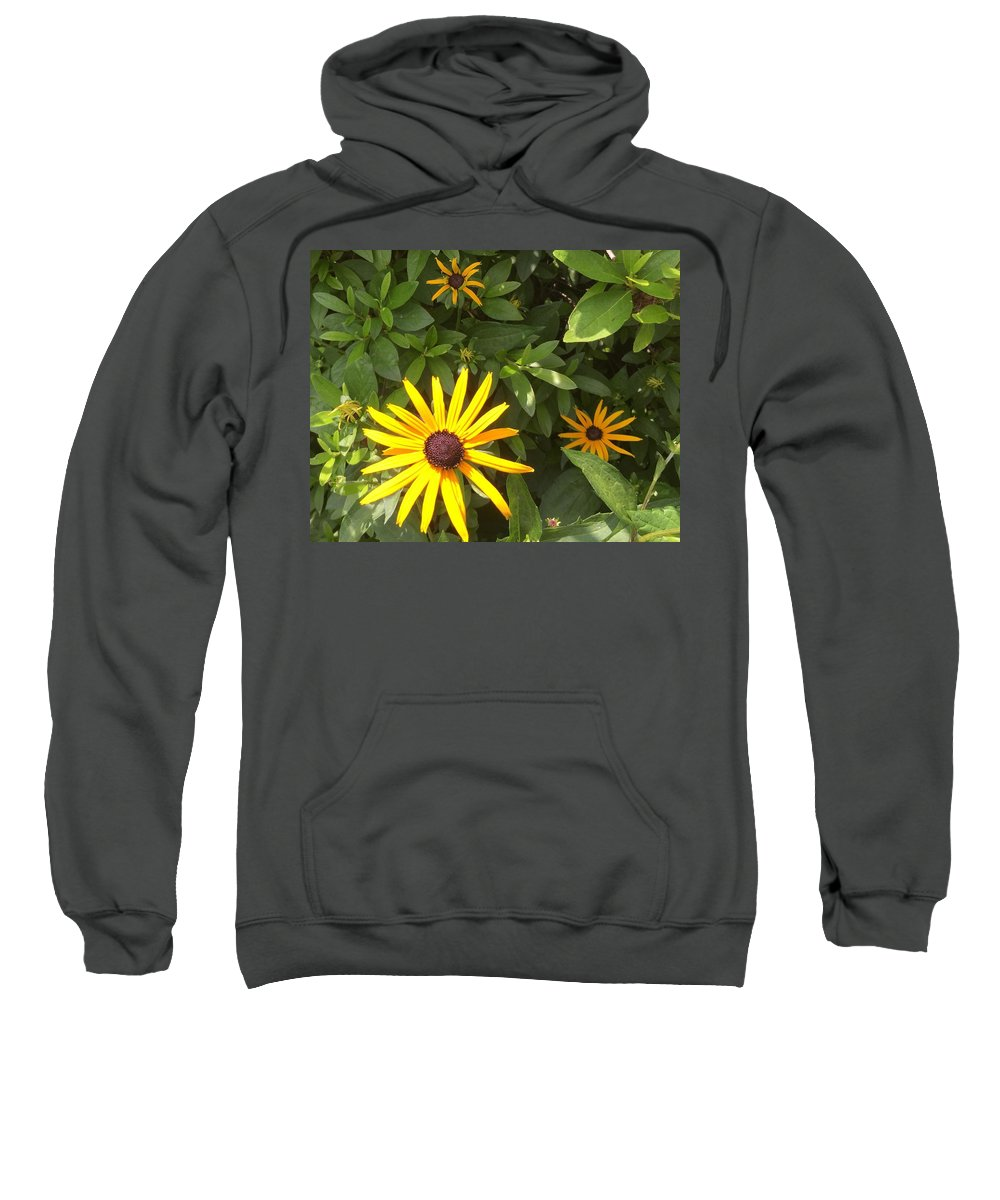 Flower Sweatshirt featuring the photograph Summer Flowers by Sabina Trzebna