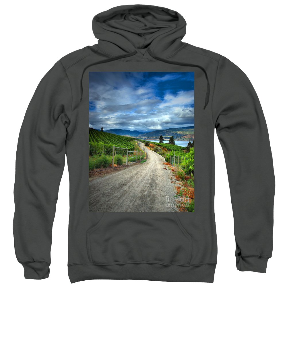 Road Sweatshirt featuring the photograph Summer Passages by Tara Turner