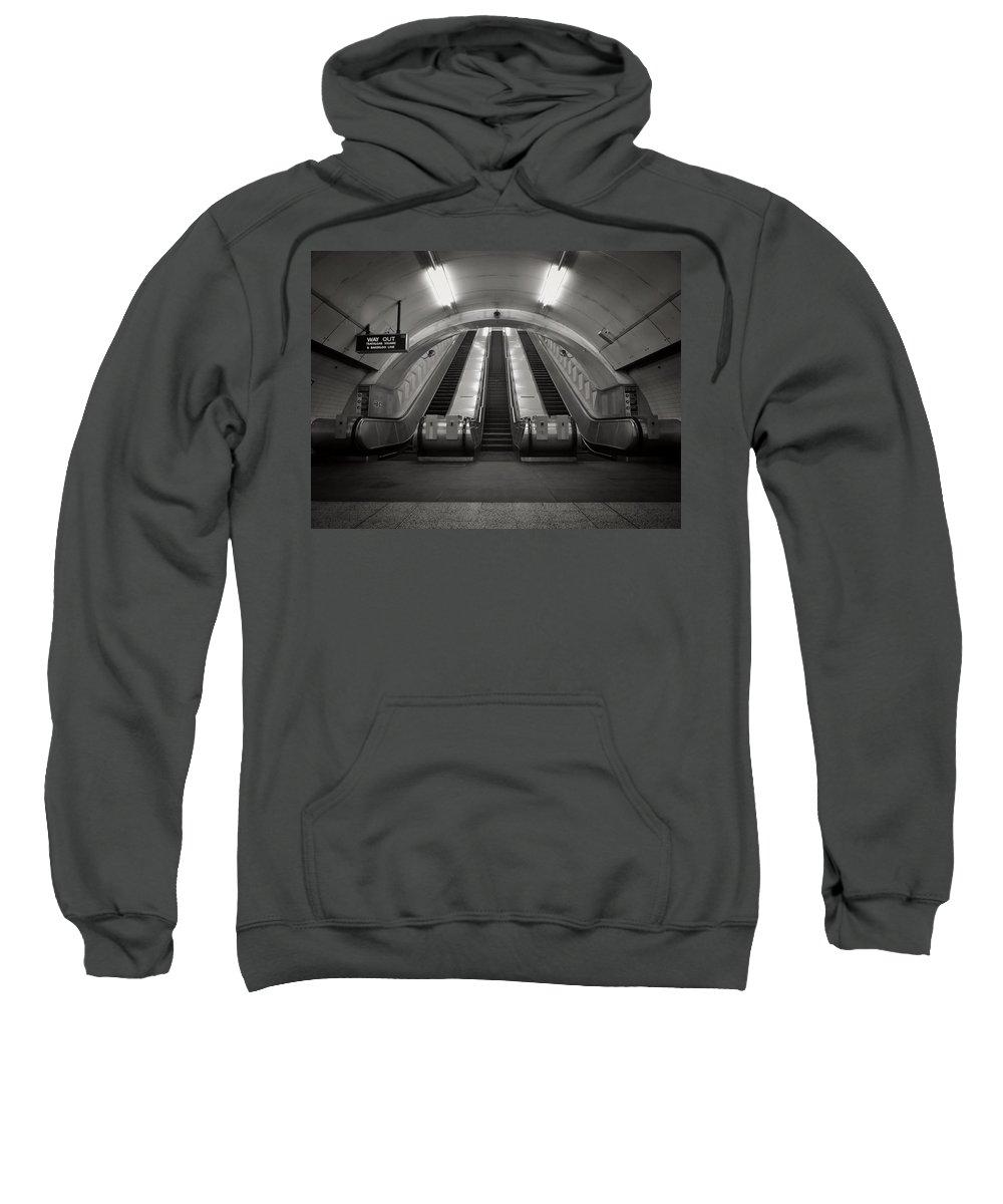 Uk Sweatshirt featuring the photograph Summit Push by Douglas Stratton