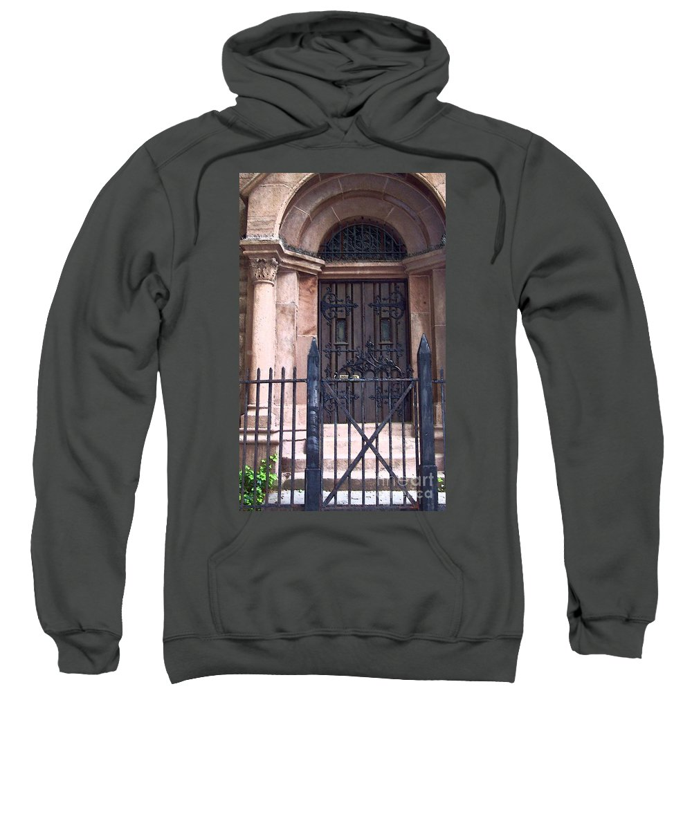 Church Sweatshirt featuring the photograph Sunday by Debbi Granruth