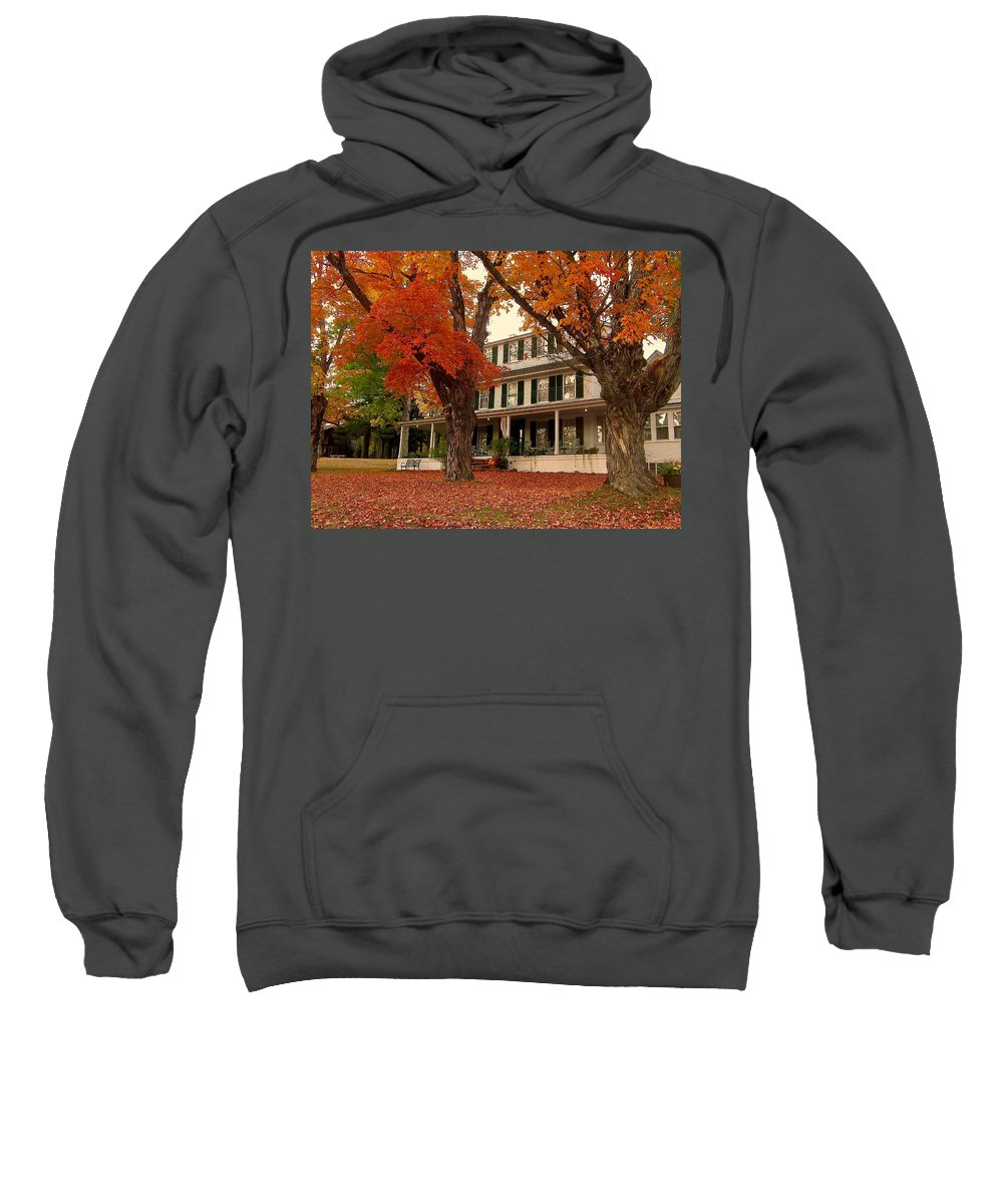 Inn Sweatshirt featuring the photograph Sunday In The Country 2 by Elizabeth Tillar
