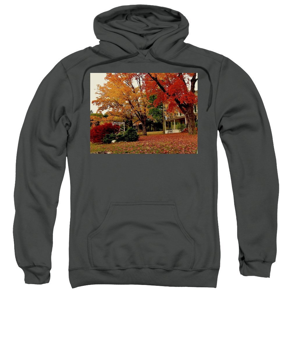Inn Sweatshirt featuring the photograph Sunday In The Country 3 by Elizabeth Tillar