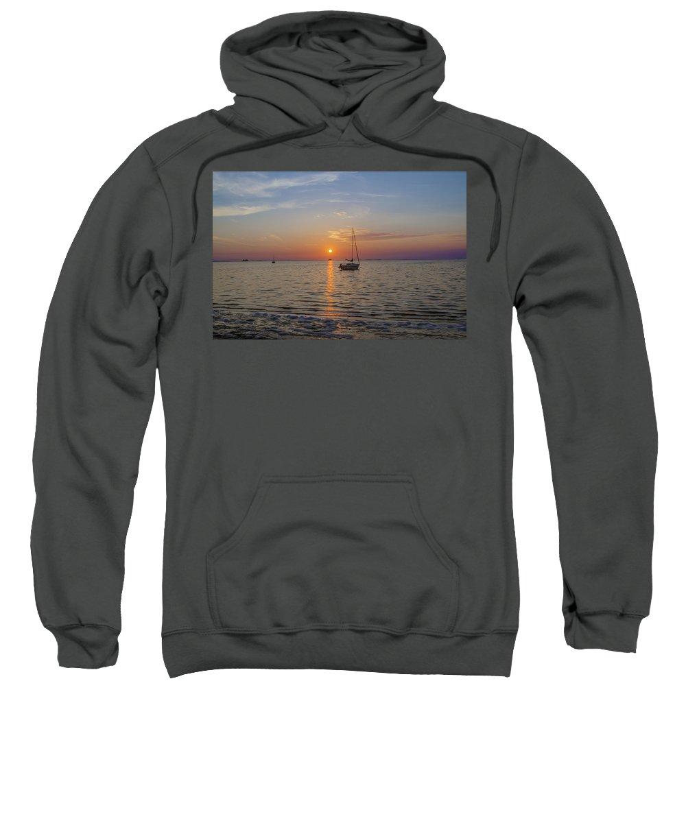 Sundown Sweatshirt featuring the photograph Sundown In The Tropics by Bill Cannon
