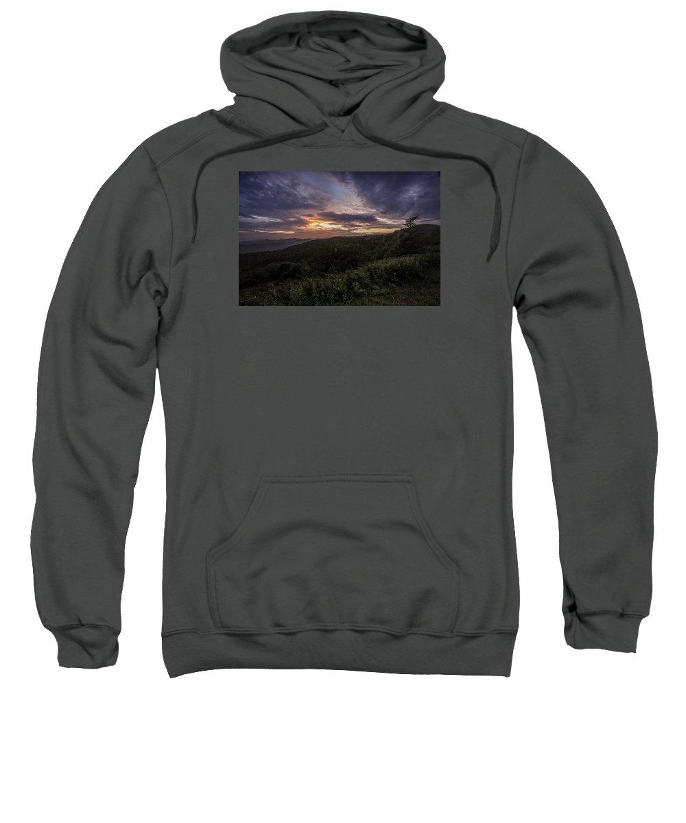 Sunset Sweatshirt featuring the photograph Sundown by Susan Harris