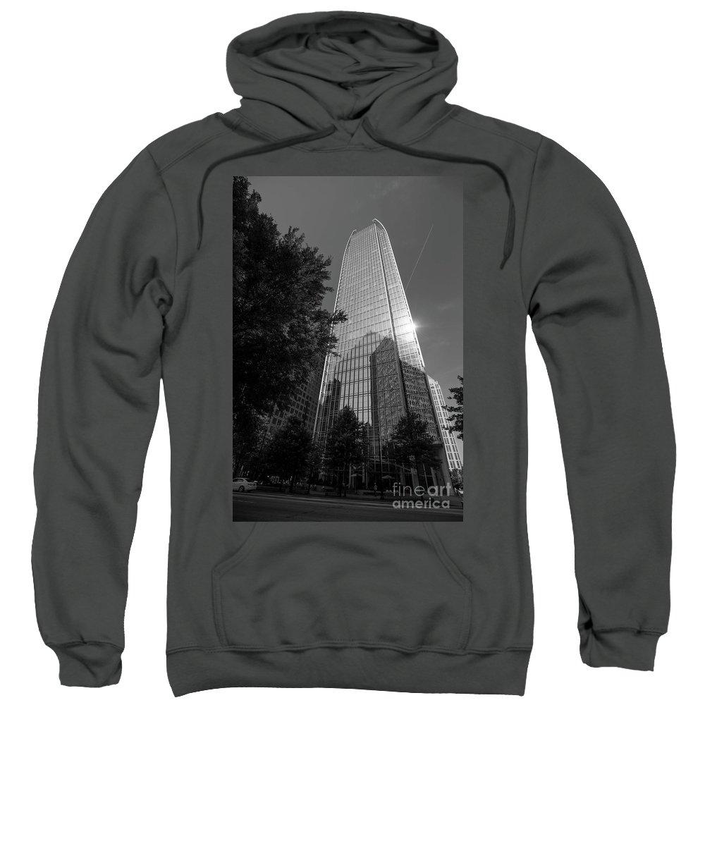 Atlanta Sweatshirt featuring the photograph Sunny Midtown Atlanta by David Bearden