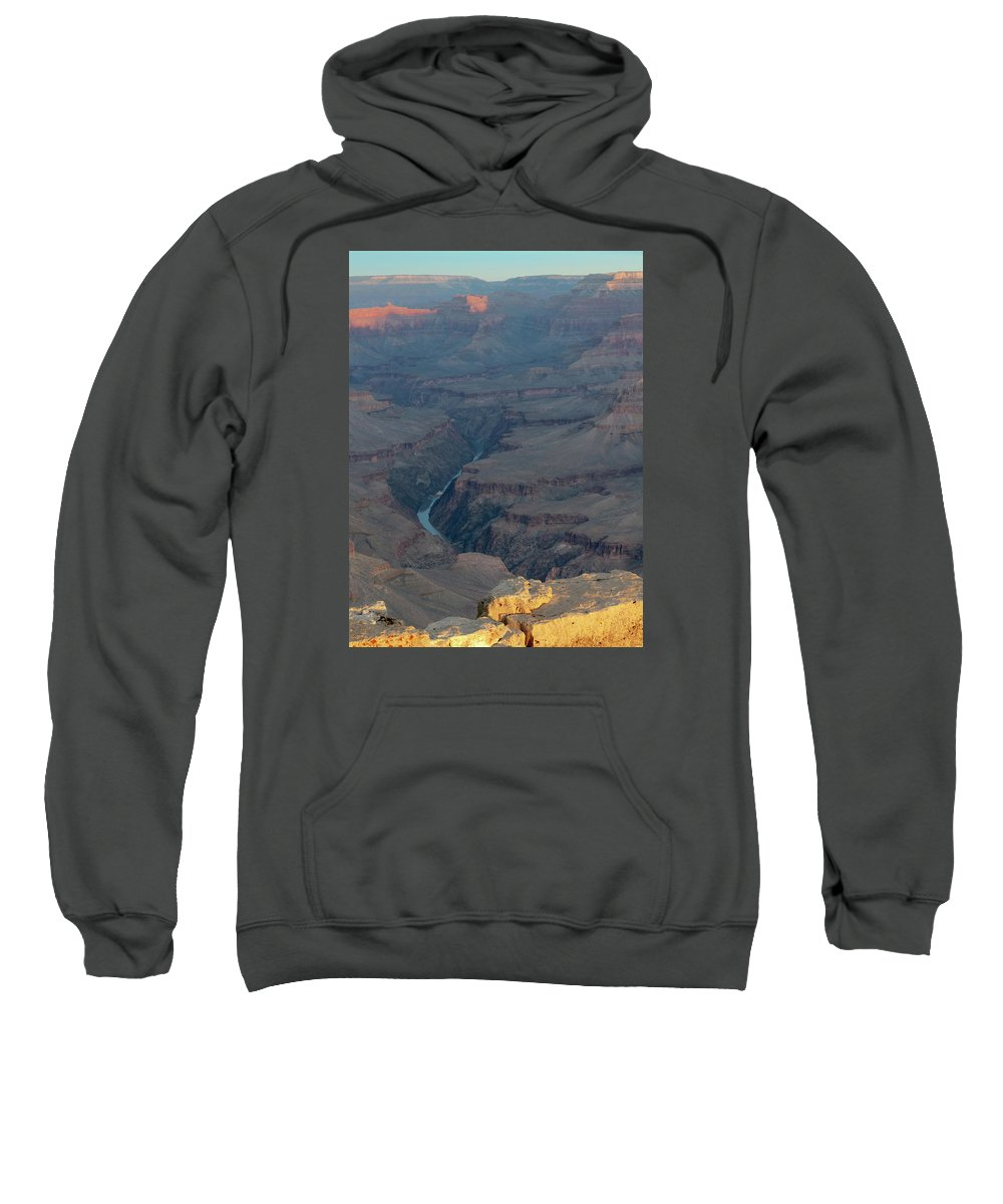 Southwest Sweatshirt featuring the photograph Sunrise On The Grand Canyon by Alan Toepfer