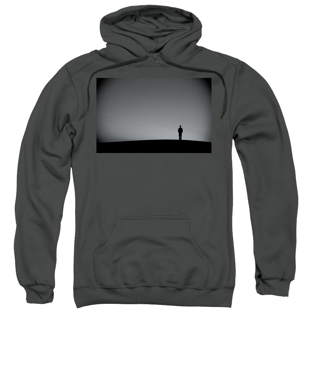 Silhouette Sweatshirt featuring the photograph Sunrise Silhouette by Scott Sawyer
