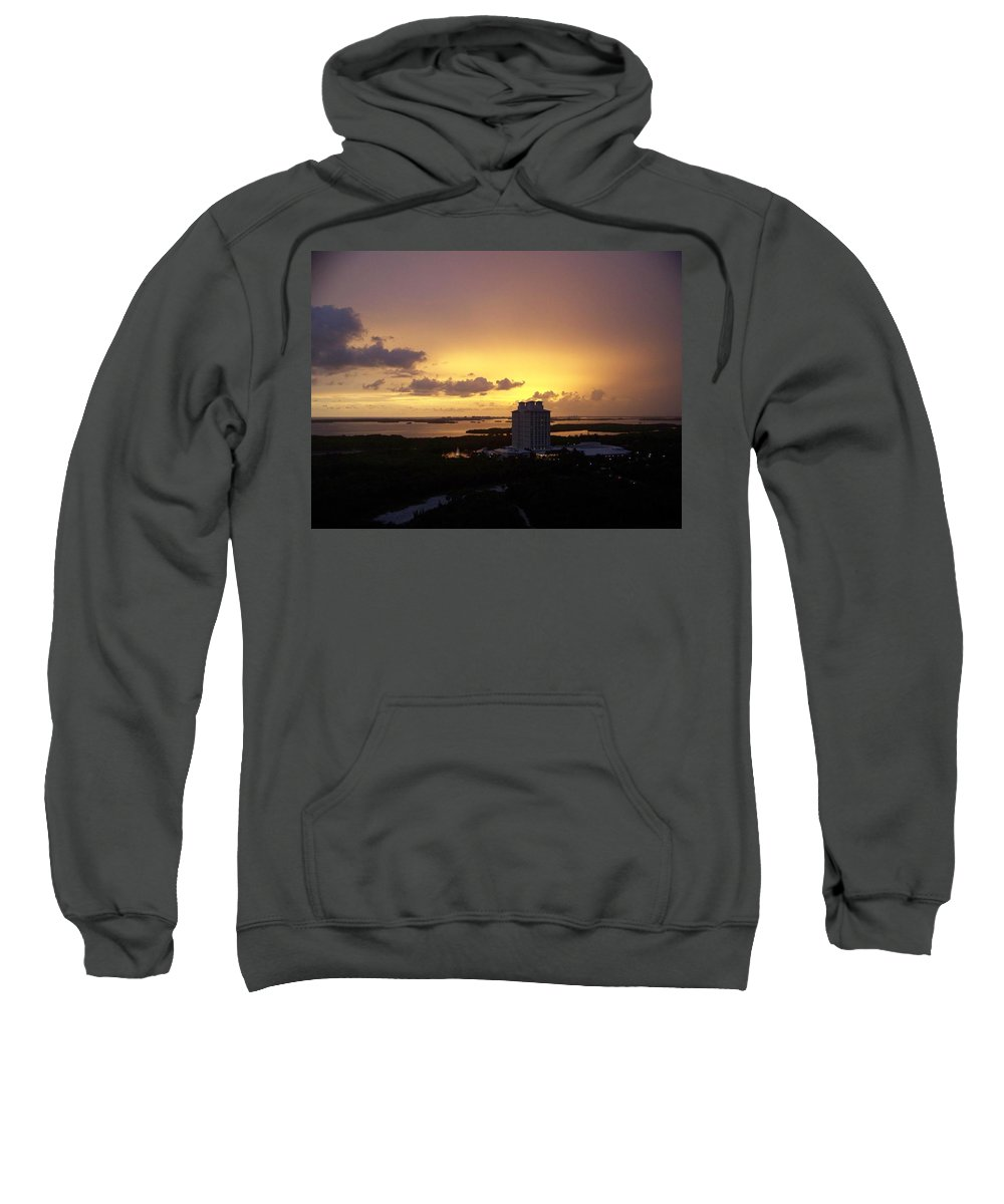 Sunset Sweatshirt featuring the photograph Sunset 0003 by Laurie Paci