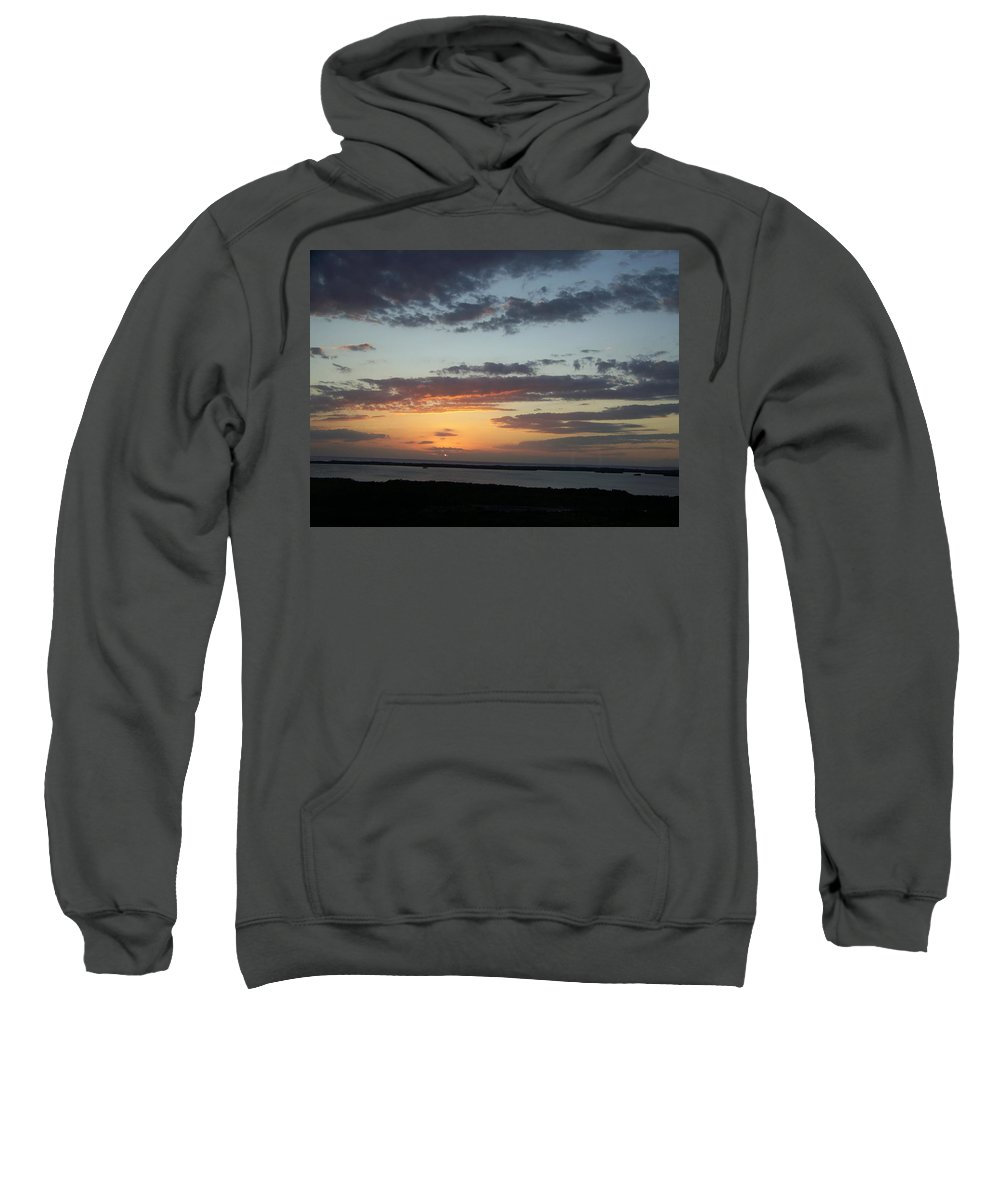 Sunset Sweatshirt featuring the photograph Sunset 0008 by Laurie Paci