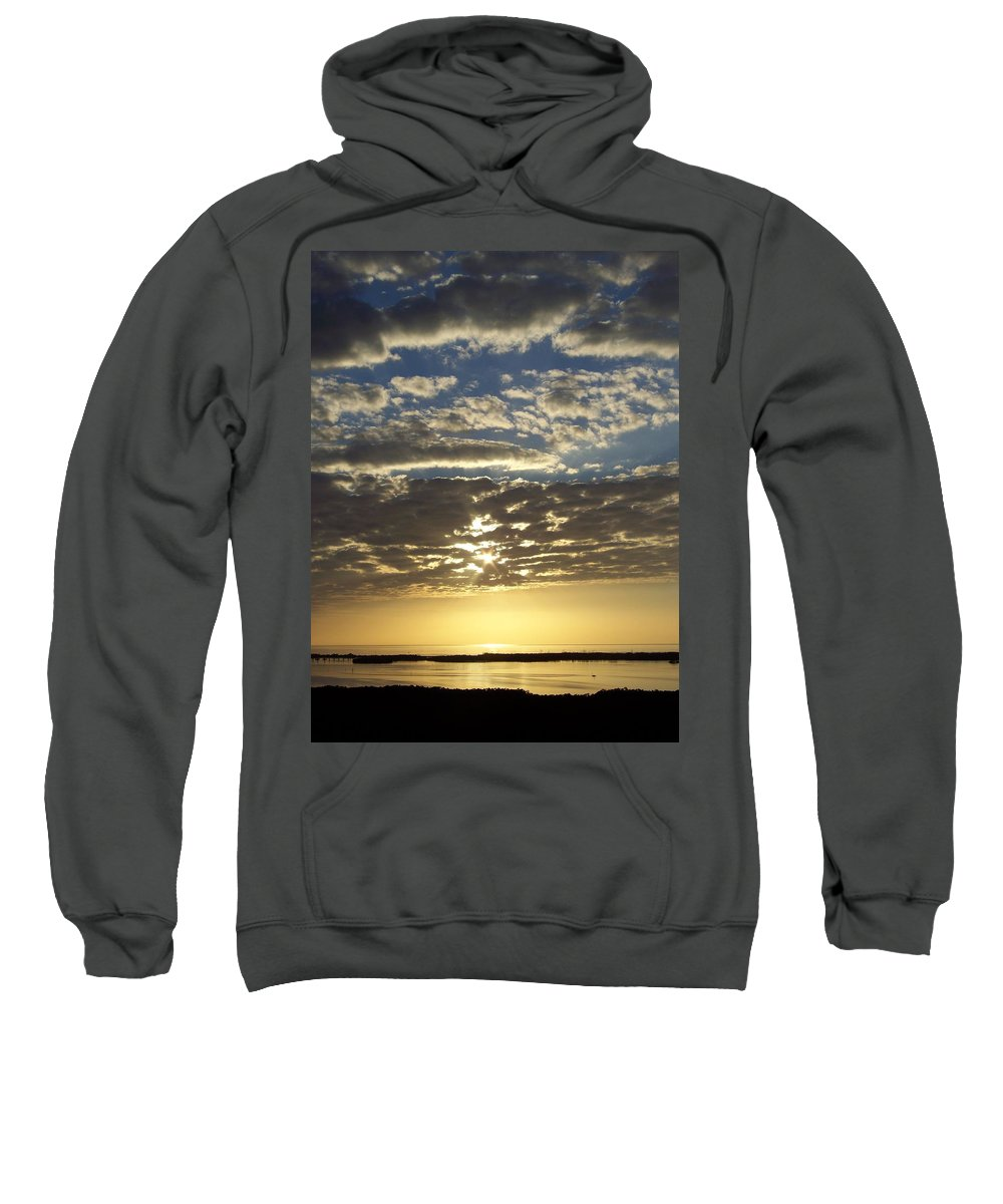 Sunset Sweatshirt featuring the photograph Sunset 0011 by Laurie Paci