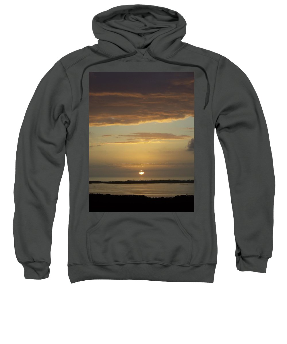 Sunset Sweatshirt featuring the photograph Sunset 0021 by Laurie Paci