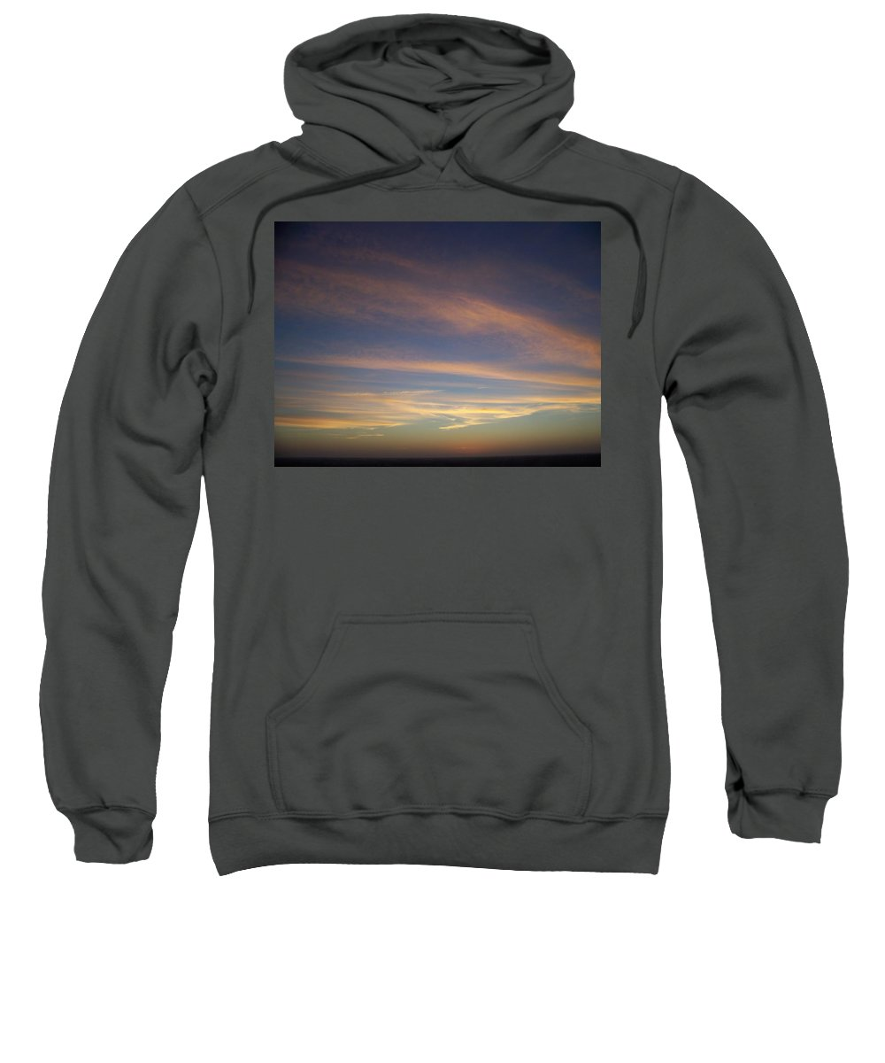 Sunset Sweatshirt featuring the photograph Sunset 0039 by Laurie Paci