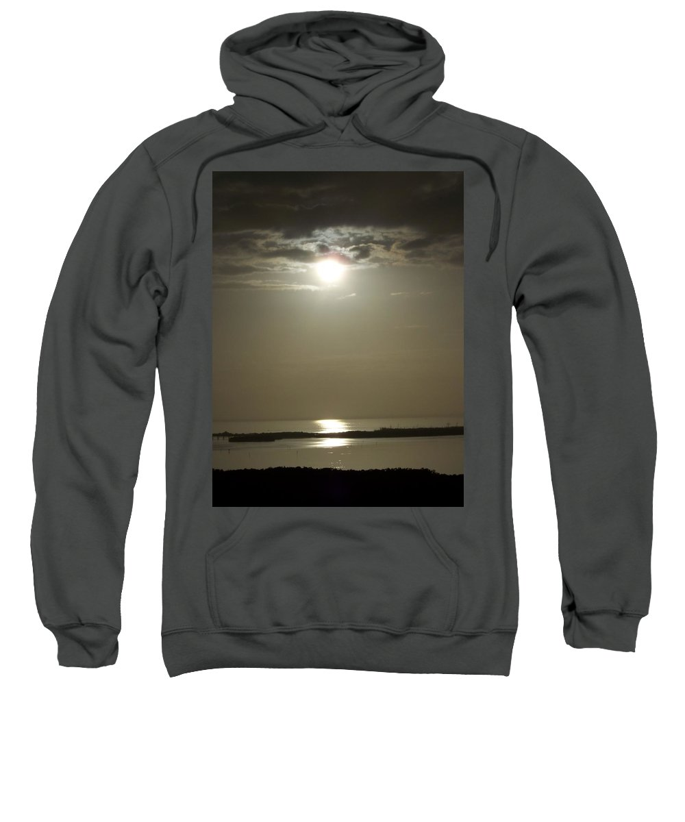 Sunset Sweatshirt featuring the photograph Sunset 0068 by Laurie Paci