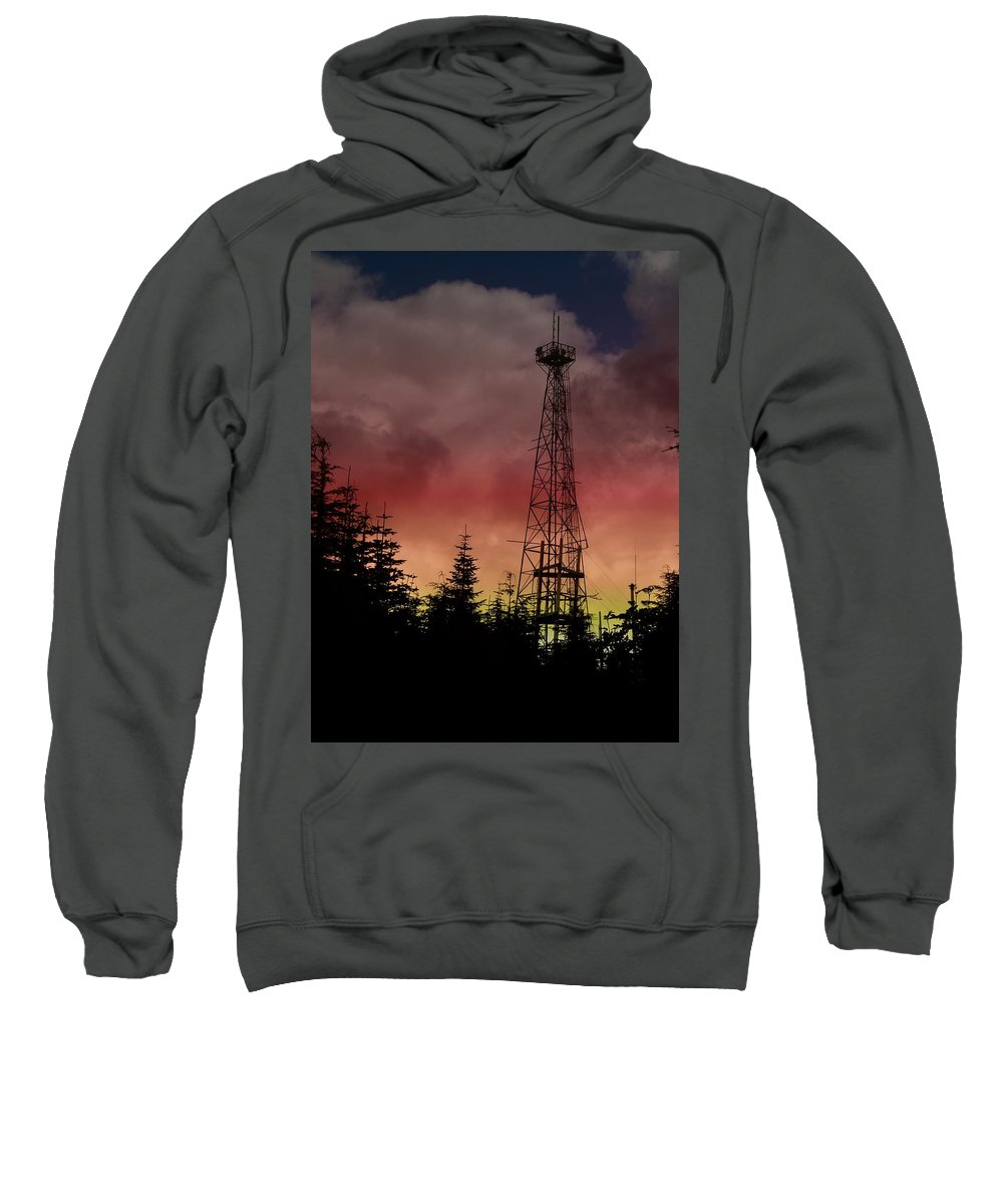 Sunset Sweatshirt featuring the photograph Sunset 5 by Tim Allen