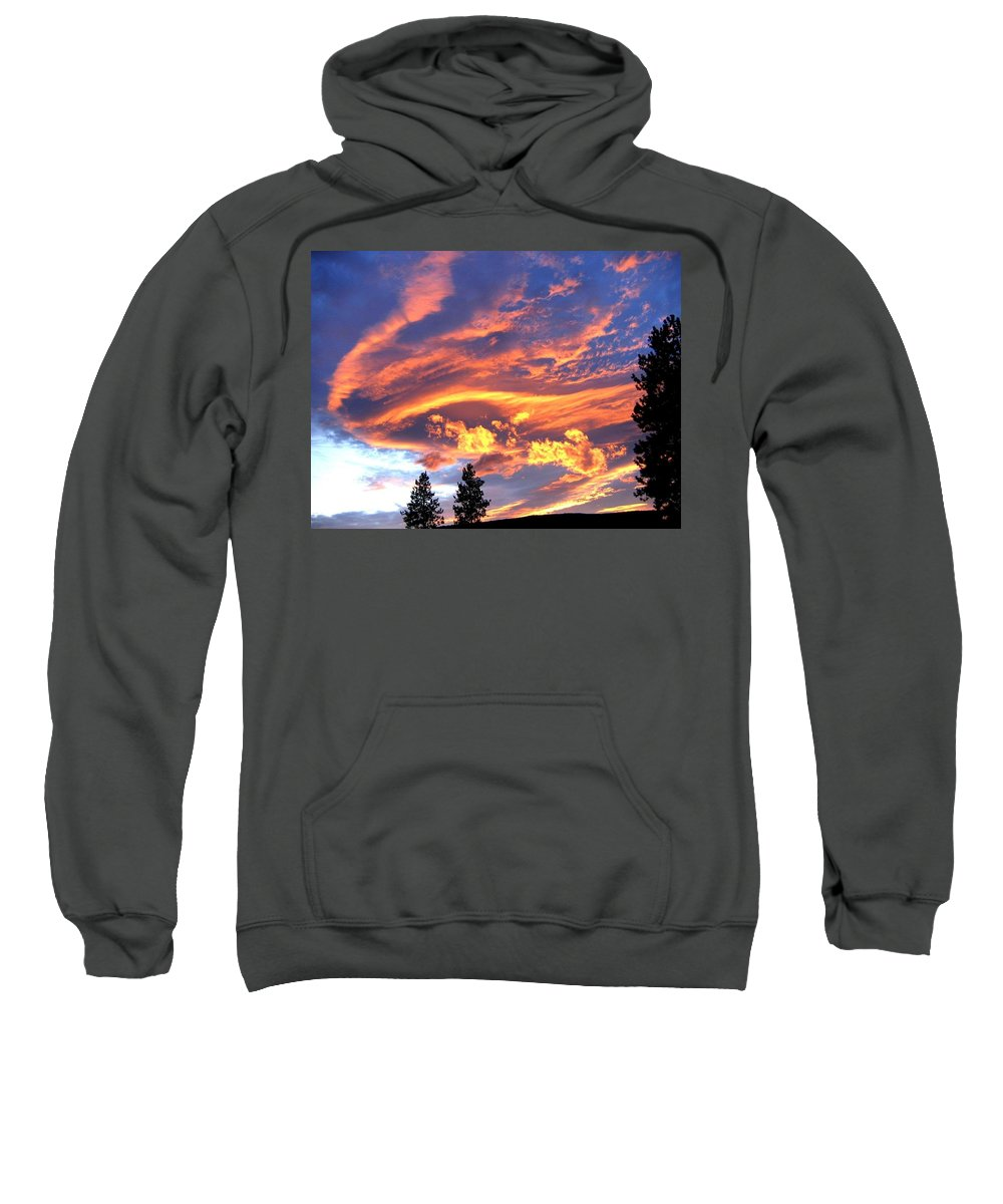 Sunset Sweatshirt featuring the photograph Sunset Extravaganza by Will Borden