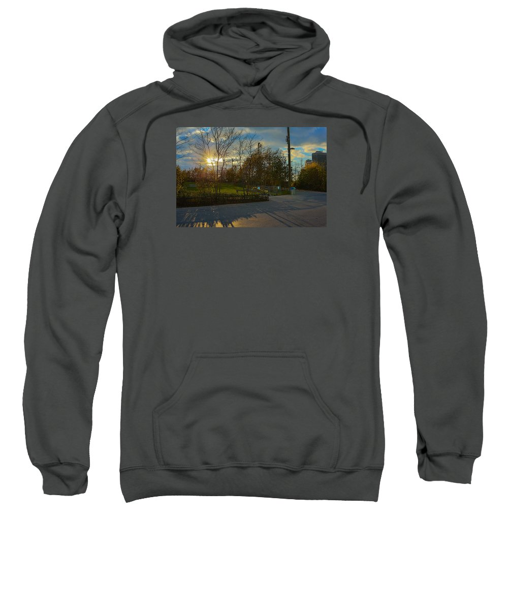 Sweatshirt featuring the photograph Sunset In Brooklyn by Christian Frazier