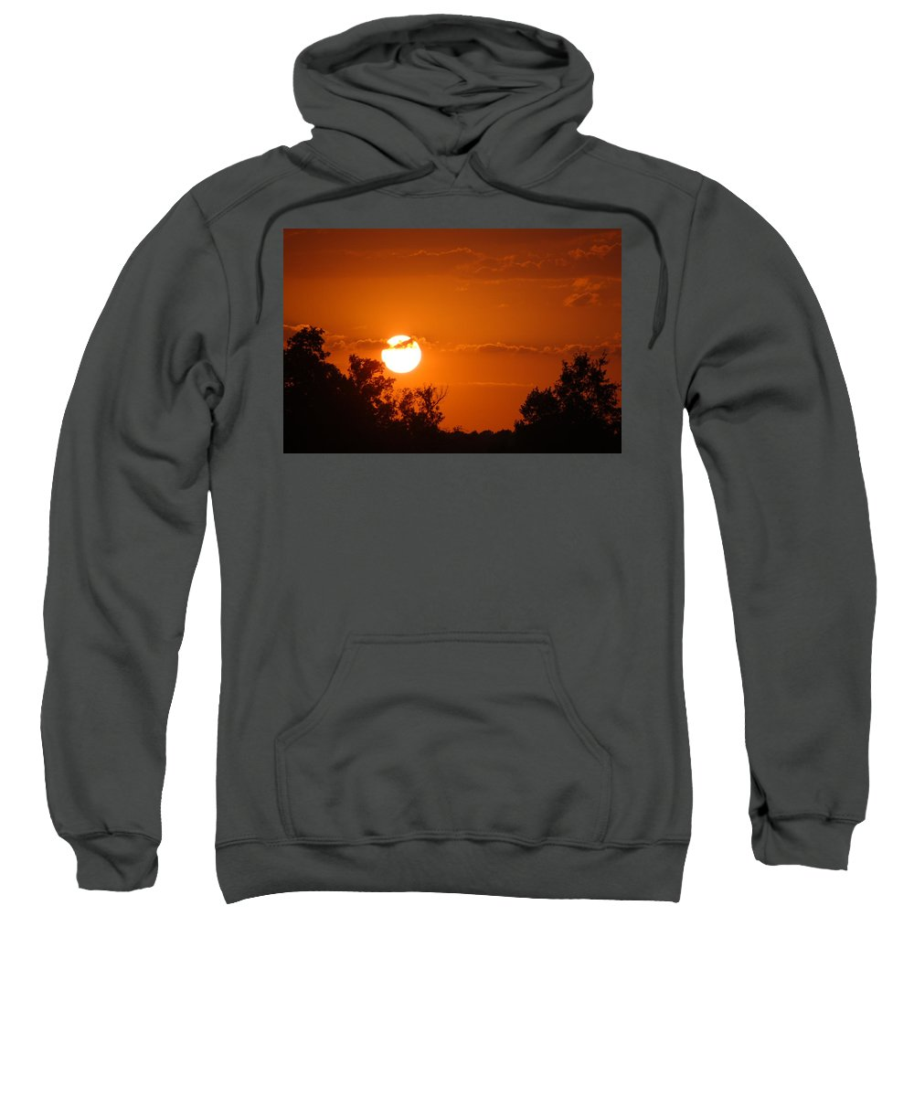 Sunset Sweatshirt featuring the photograph Sunset In Charleston by Donna Bentley