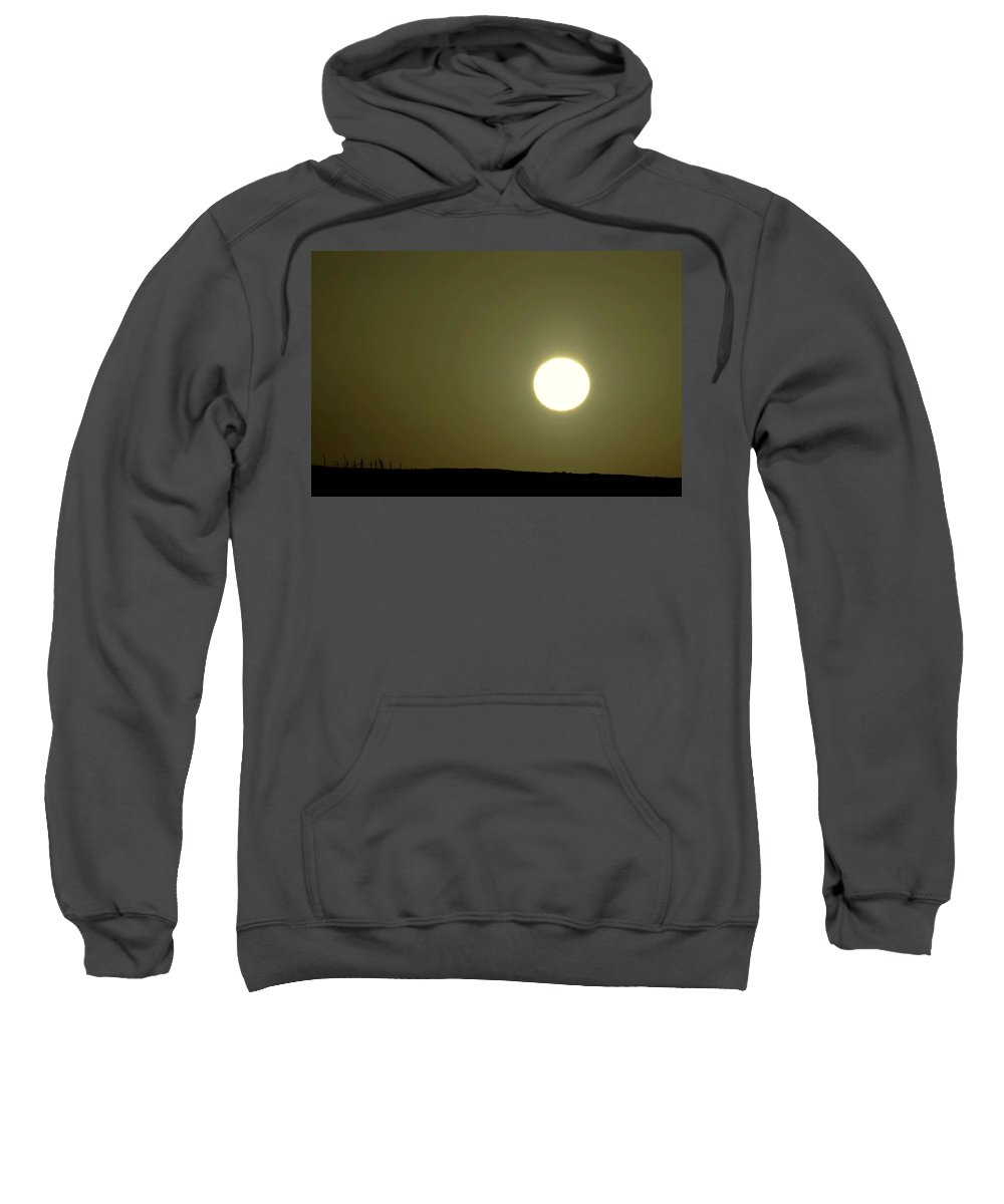 Sunset Sweatshirt featuring the photograph Sunset On Over Leaventworth by Jeff Swan