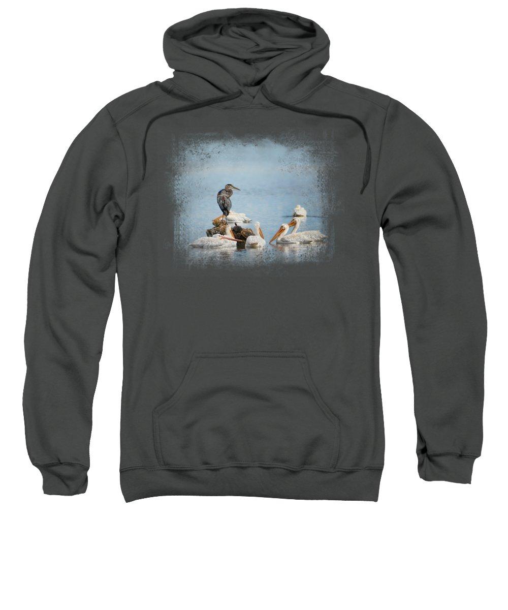 Heron Hooded Sweatshirts T-Shirts