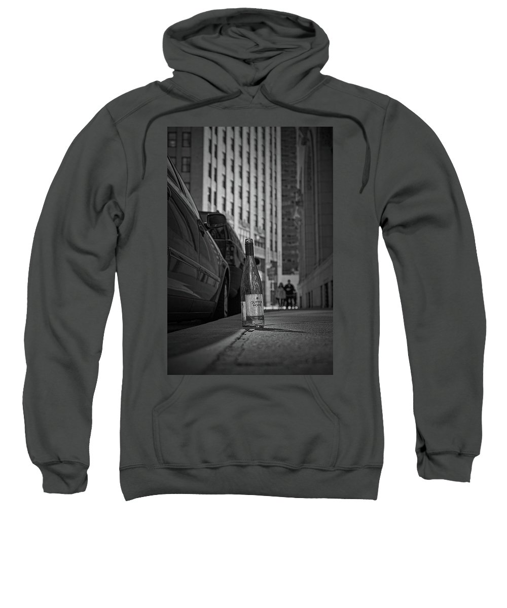 Wine Bottle. Sutter Home Sweatshirt featuring the photograph Sutter Home by Bruce Coulter