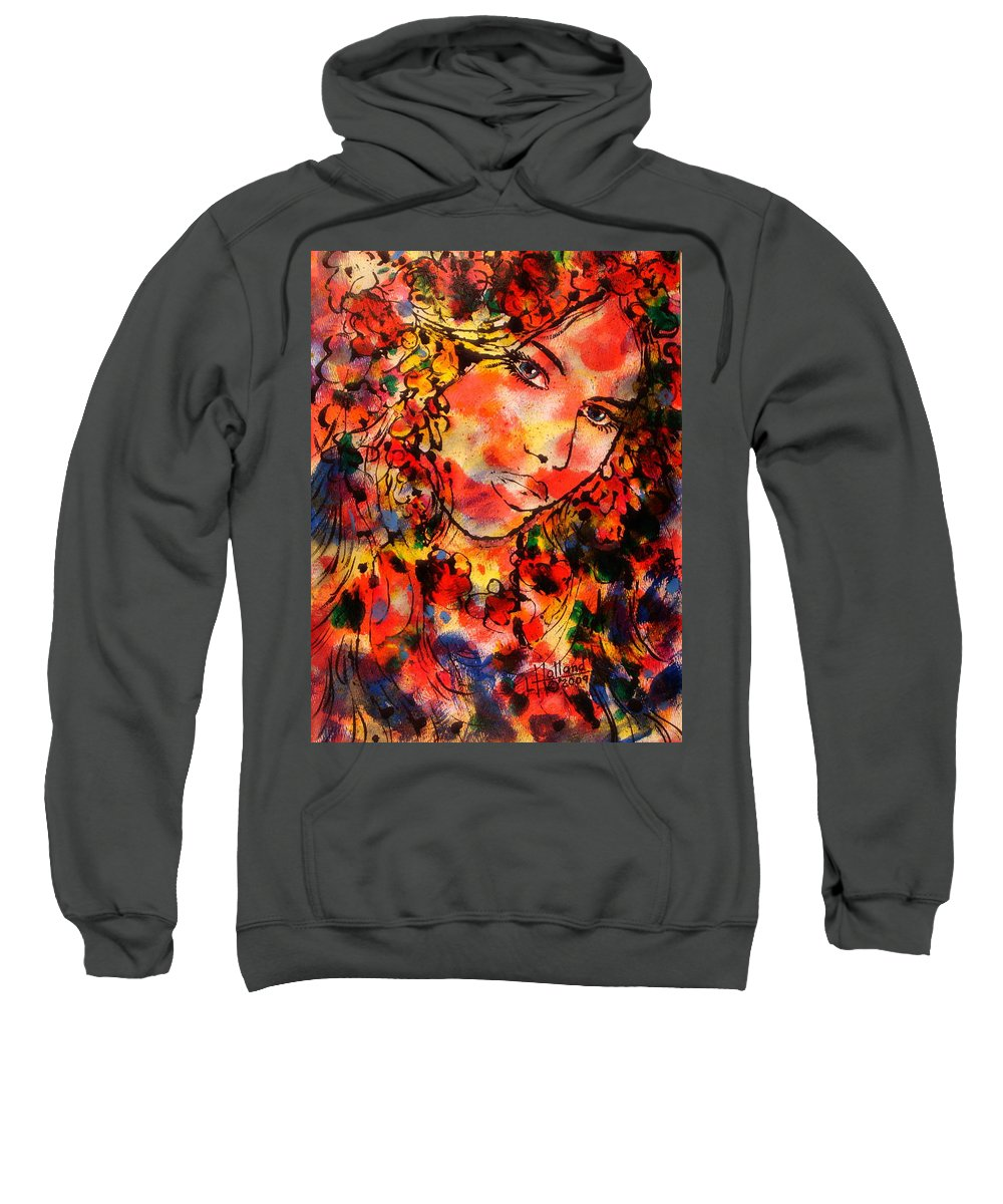 Impressionism Sweatshirt featuring the painting Sweetheart by Leonard Holland