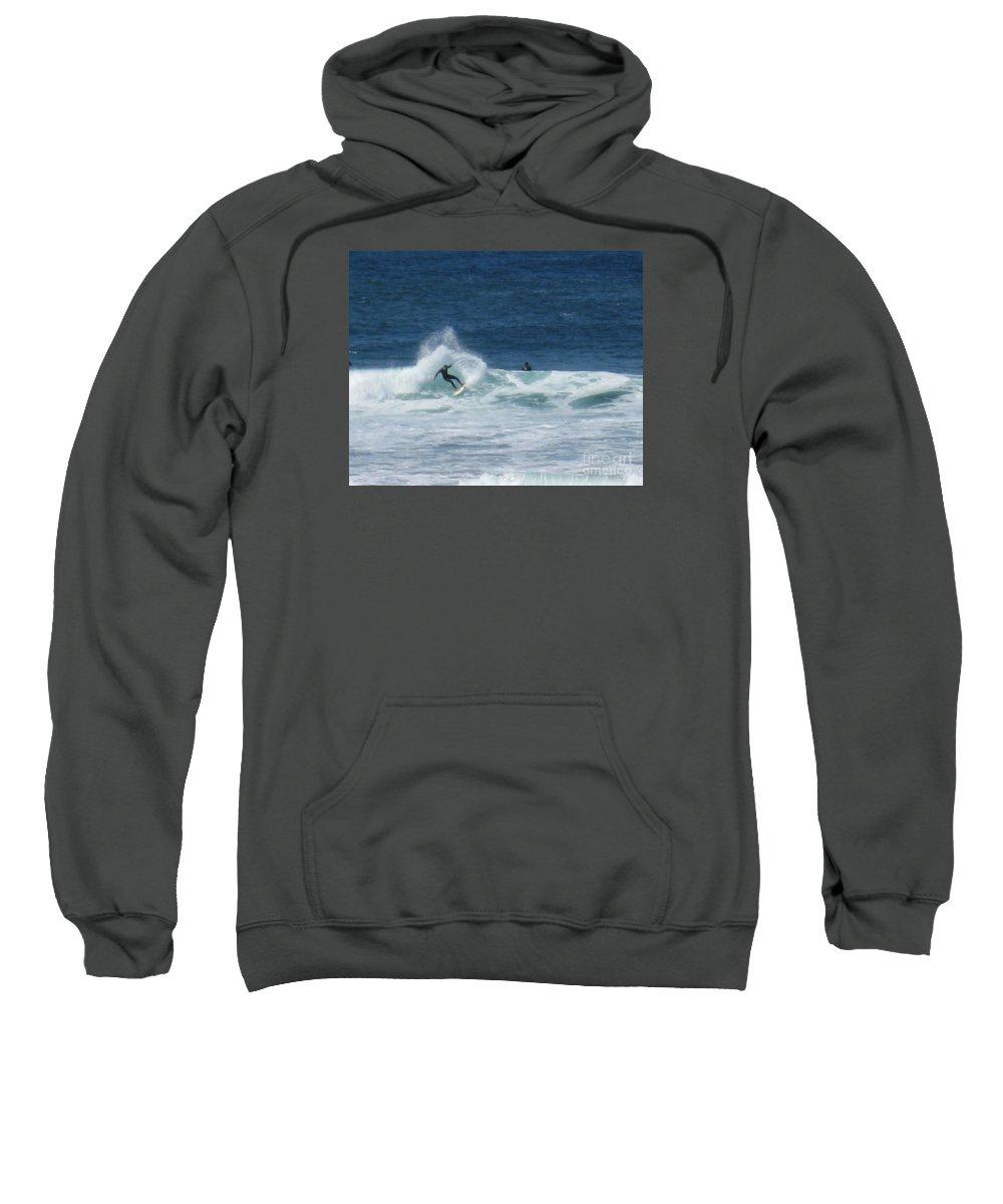 Surfer Sweatshirt featuring the photograph Swish by Marta Robin Gaughen