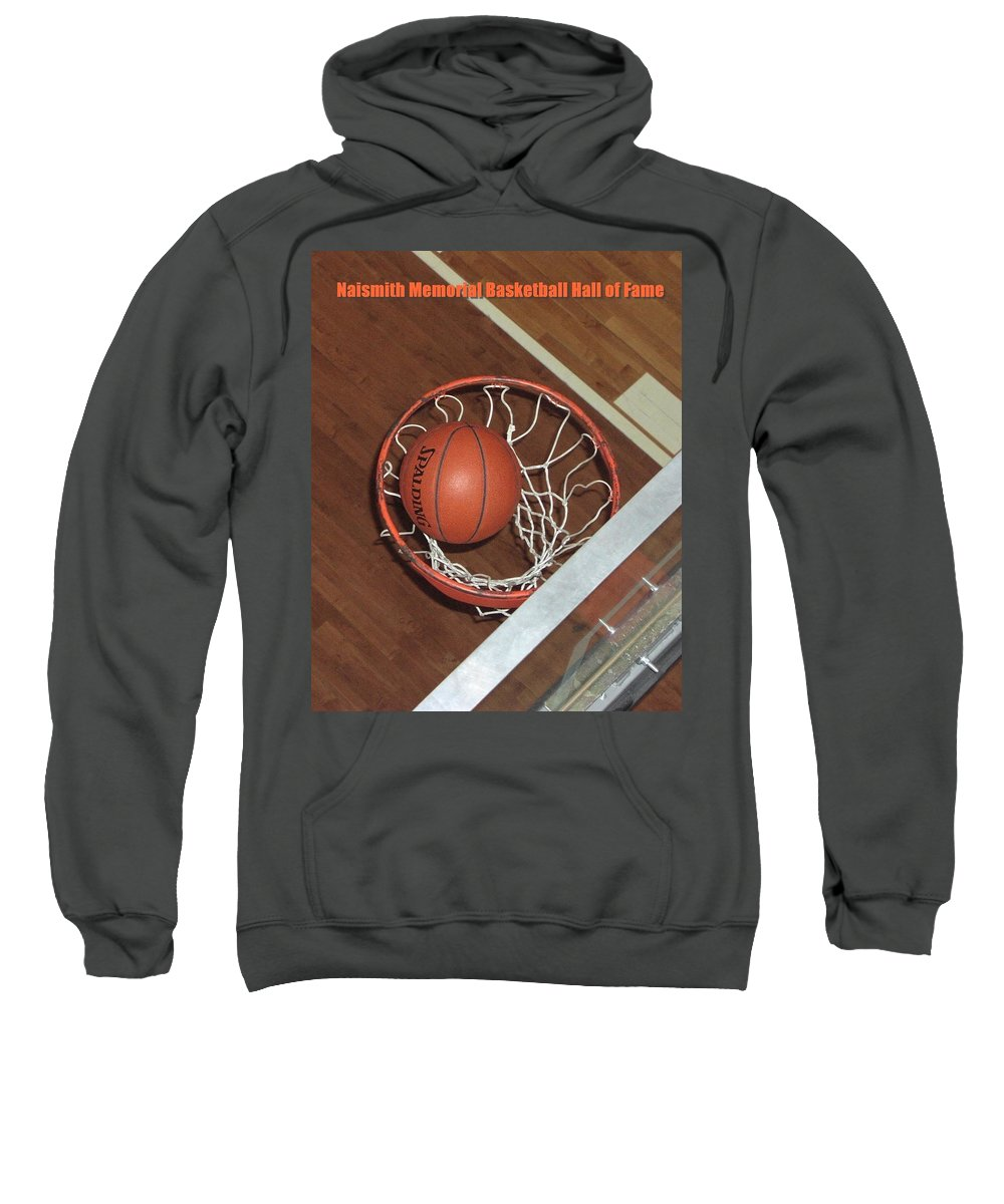 Sports Sweatshirt featuring the photograph Swish by Mike Martin