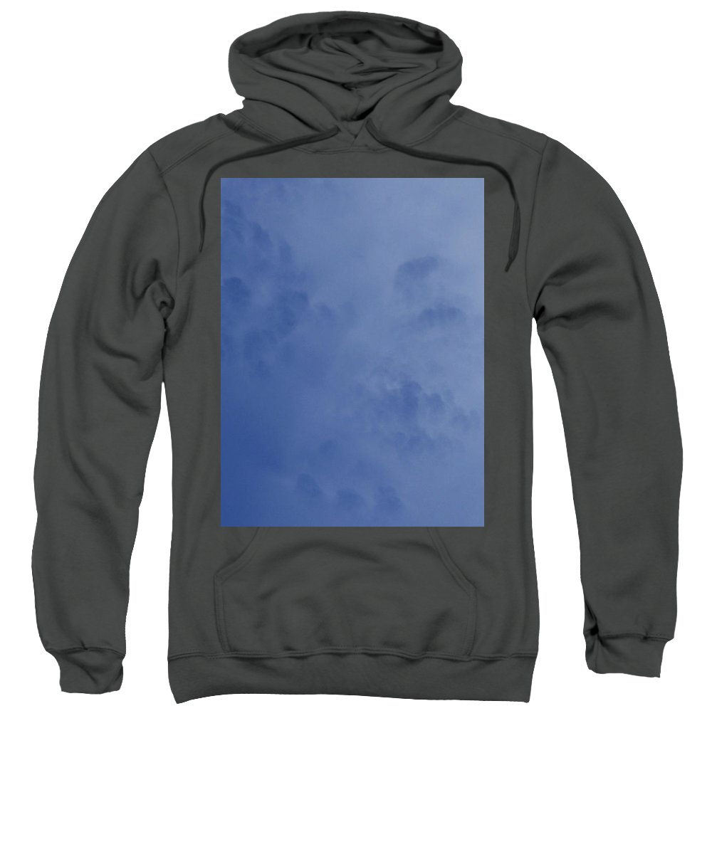 Strange Clouds Sweatshirt featuring the photograph Swiss Cheese Cloud 2 by Kit Kay