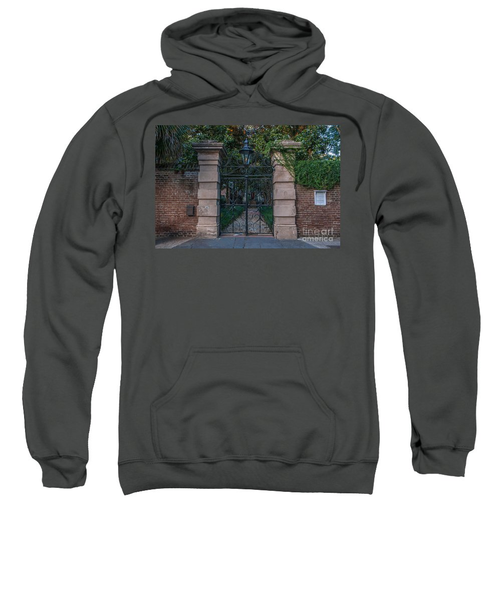 Sword Sweatshirt featuring the photograph Sword House by Dale Powell