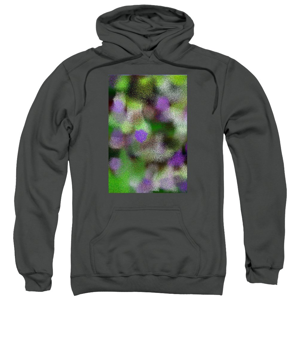 Abstract Sweatshirt featuring the digital art T.1.1478.93.2x3.3413x5120 by Gareth Lewis