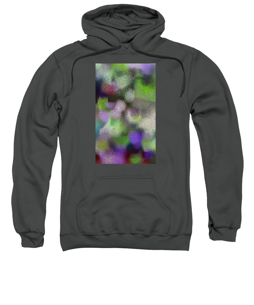 Abstract Sweatshirt featuring the digital art T.1.1482.93.3x5.3072x5120 by Gareth Lewis