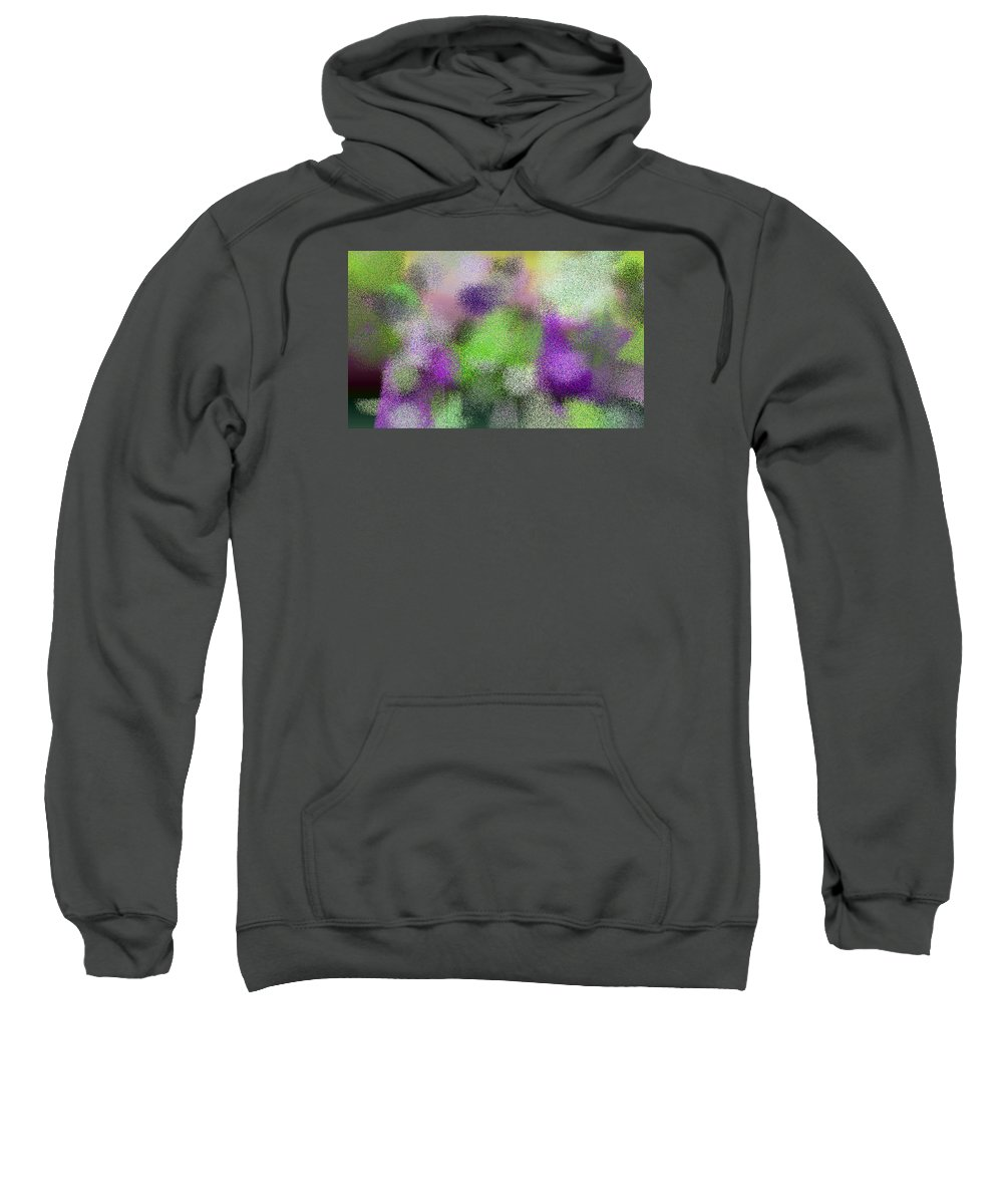Abstract Sweatshirt featuring the digital art T.1.1499.94.5x3.5120x3072 by Gareth Lewis