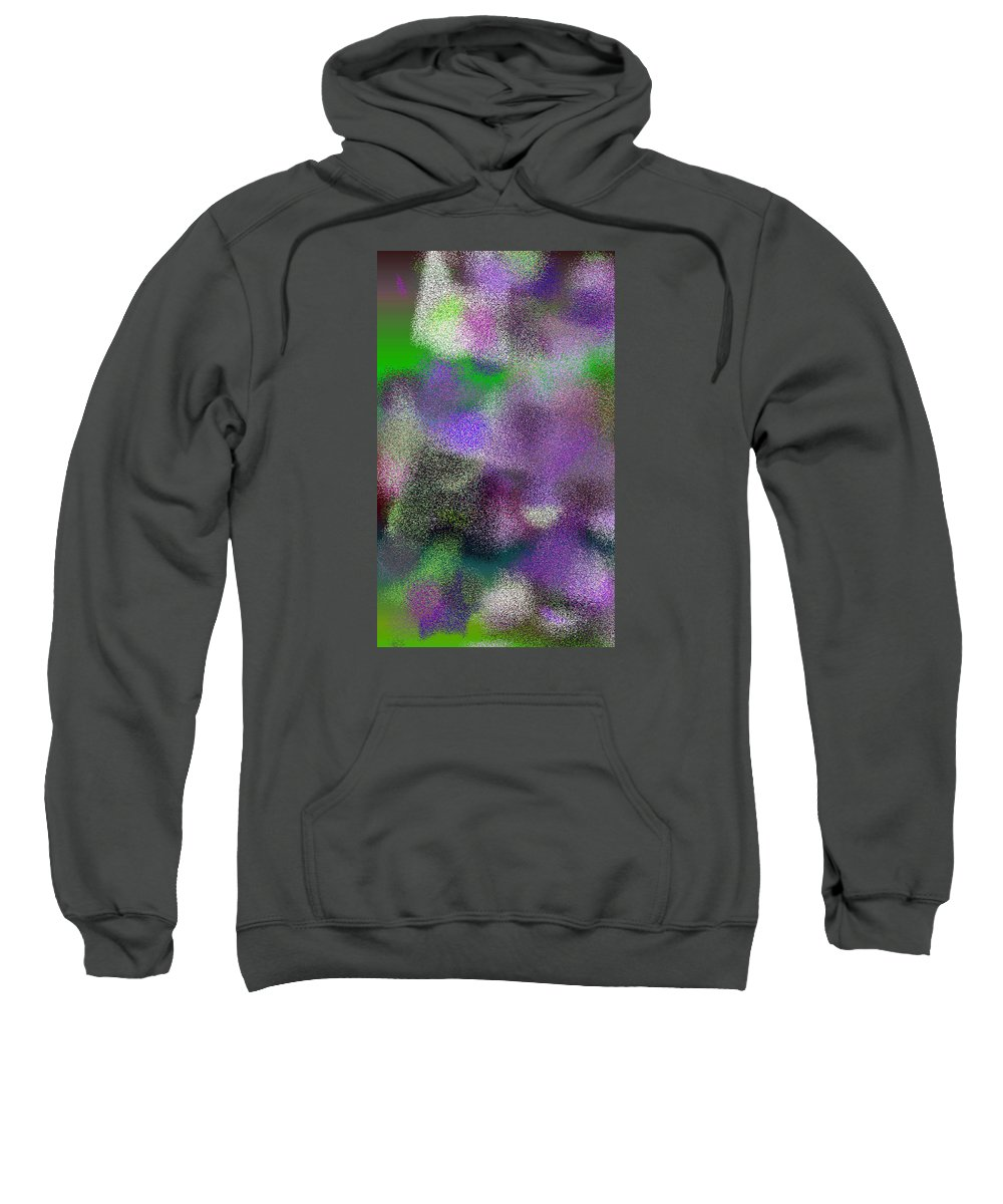 Abstract Sweatshirt featuring the digital art T.1.1898.119.3x5.3072x5120 by Gareth Lewis