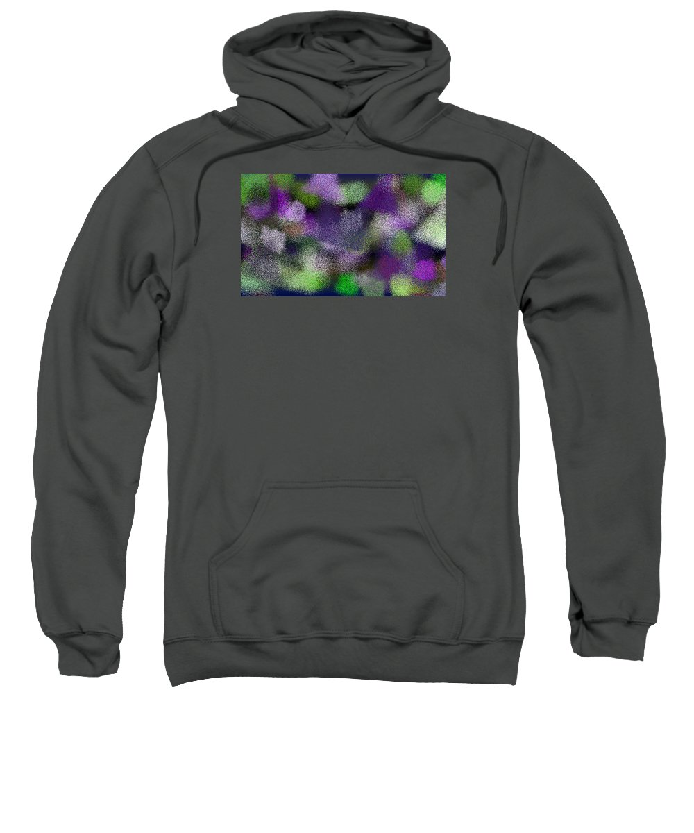 Abstract Sweatshirt featuring the digital art T.1.1915.120.5x3.5120x3072 by Gareth Lewis