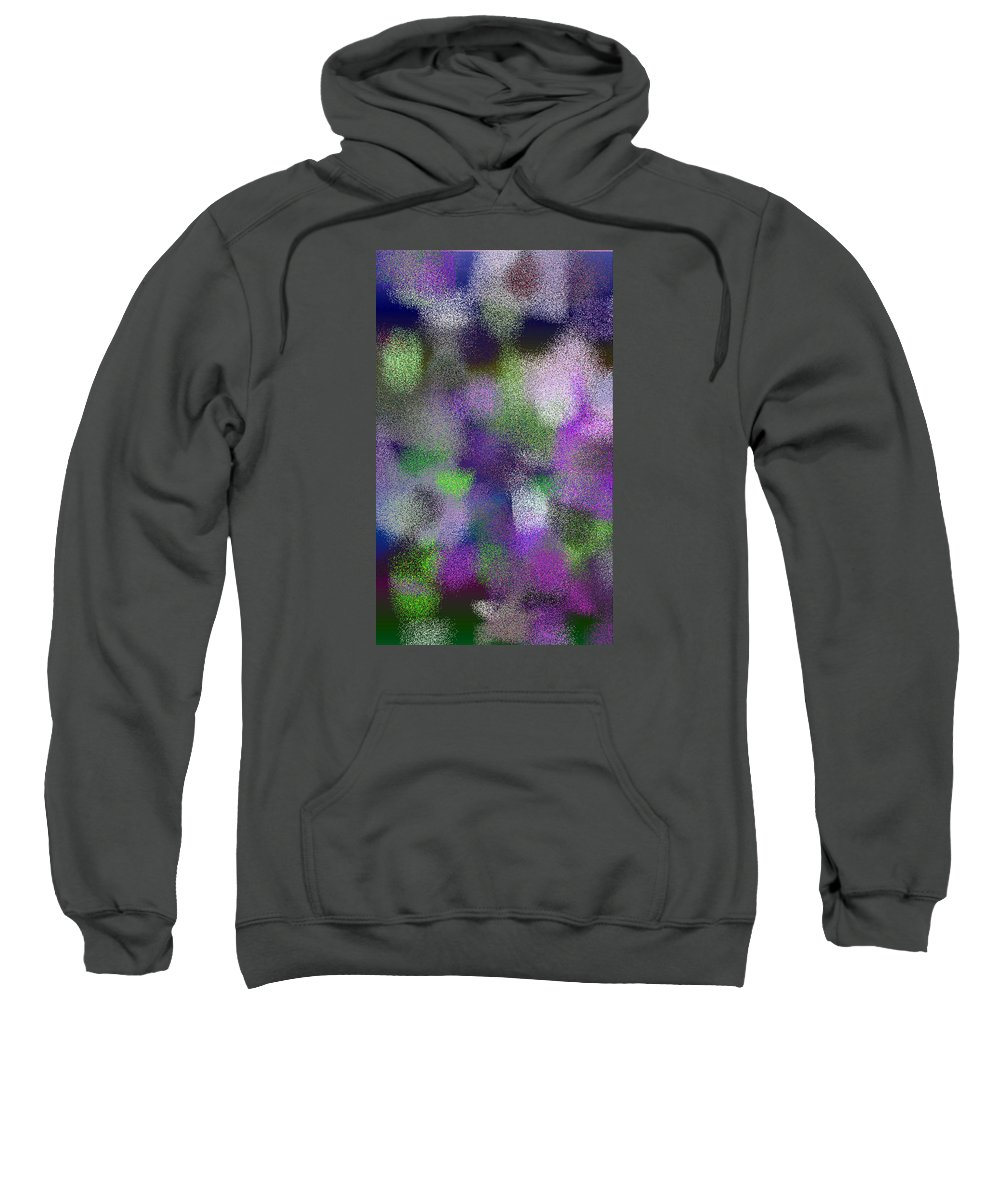 Abstract Sweatshirt featuring the digital art T.1.1994.125.3x5.3072x5120 by Gareth Lewis