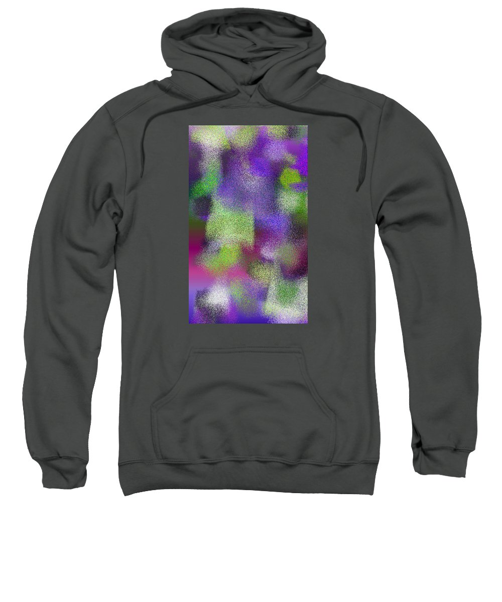Abstract Sweatshirt featuring the digital art T.1.442.28.3x5.3072x5120 by Gareth Lewis