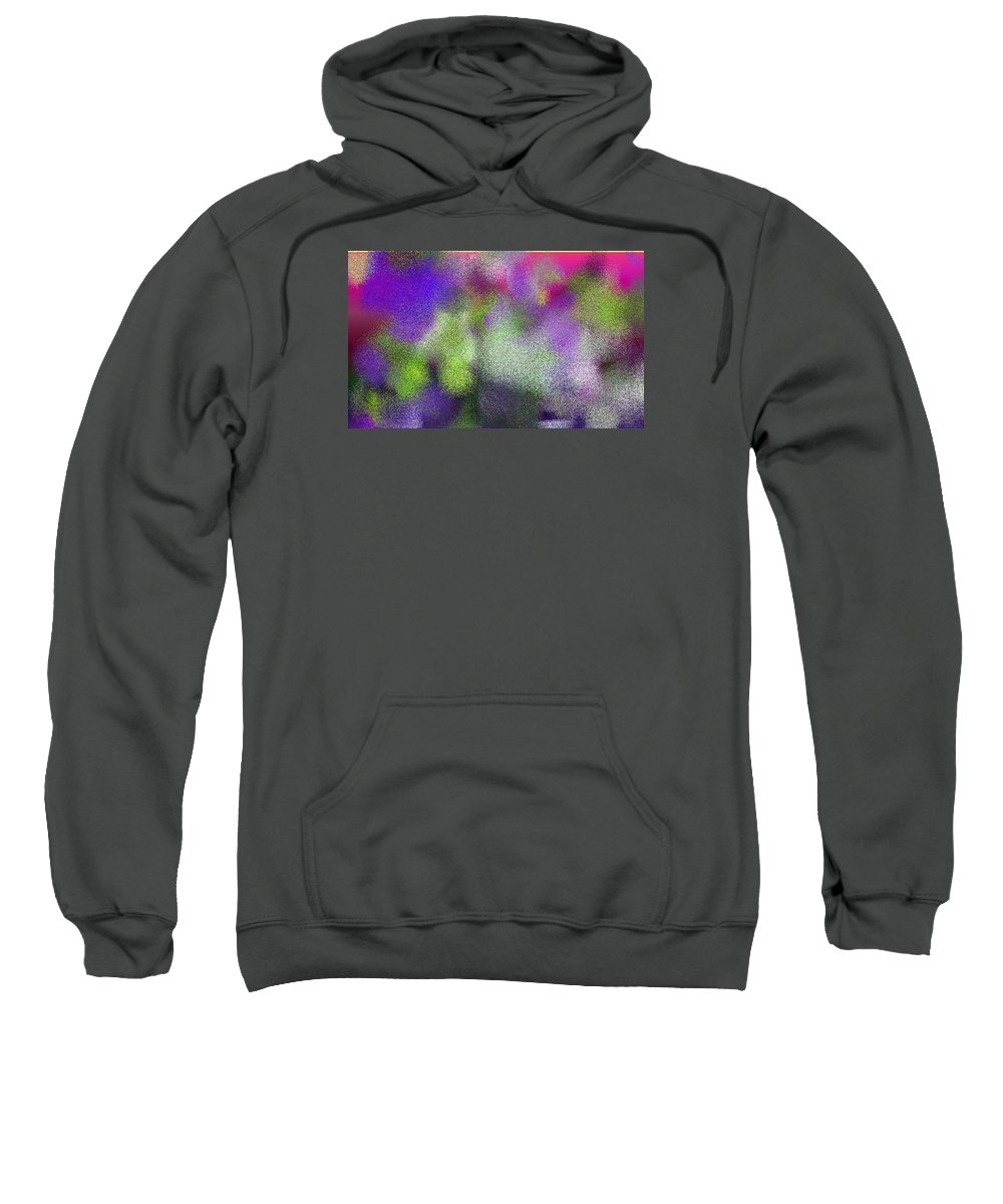 Abstract Sweatshirt featuring the digital art T.1.443.28.5x3.5120x3072 by Gareth Lewis