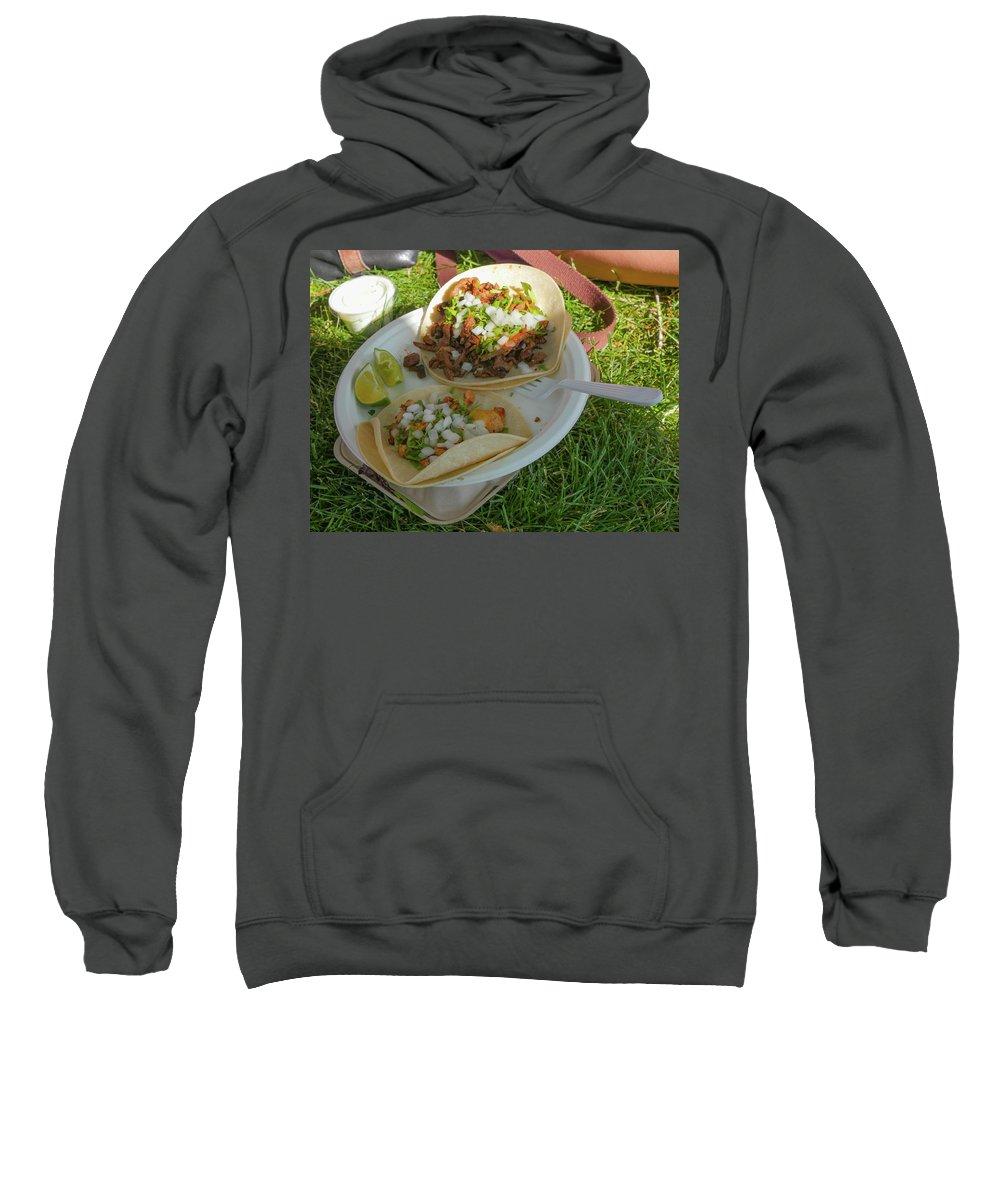 Taco Sweatshirt featuring the photograph Taco by Billy Joe