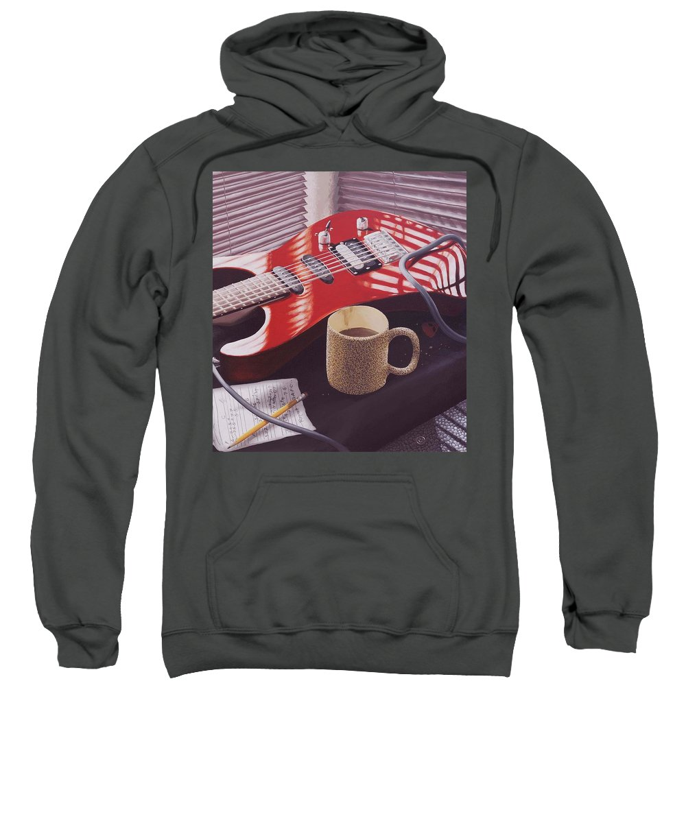 Still Life Sweatshirt featuring the painting Take Ten by Jon Carroll Otterson