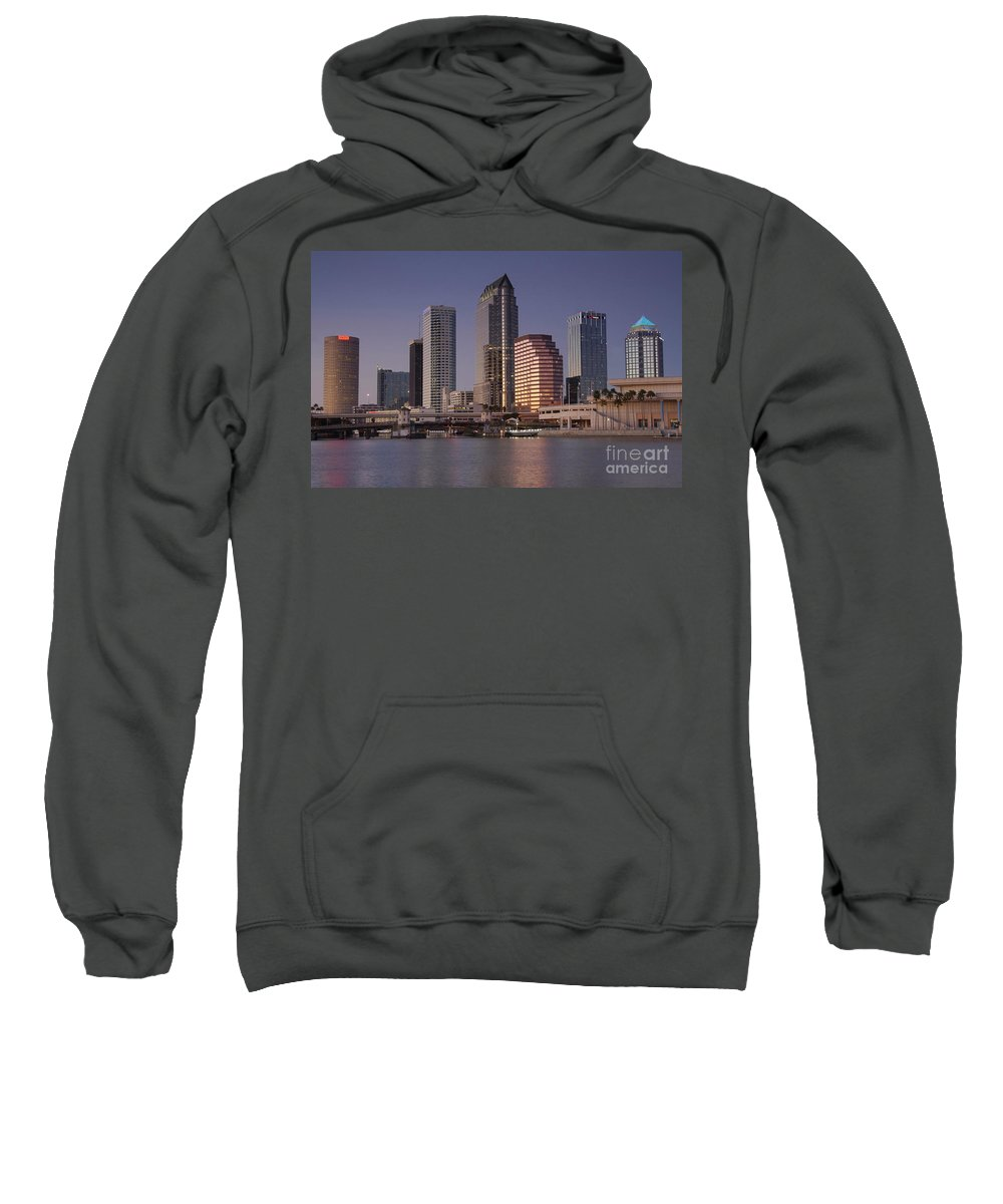 Tampa Florida Sweatshirt featuring the photograph Tampa Florida by David Lee Thompson