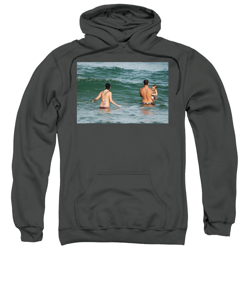 Sea Scape Sweatshirt featuring the photograph Tattoo Family by Rob Hans