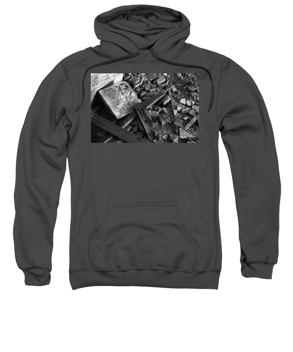 Dark Art Sweatshirt featuring the photograph Tell Me A Story by Peter Piatt