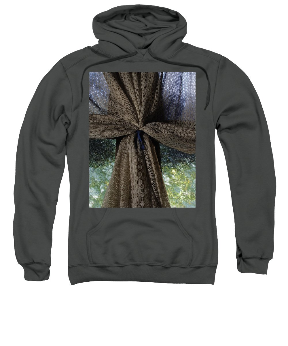 Texture Sweatshirt featuring the photograph Texture And Lace by Peter Piatt
