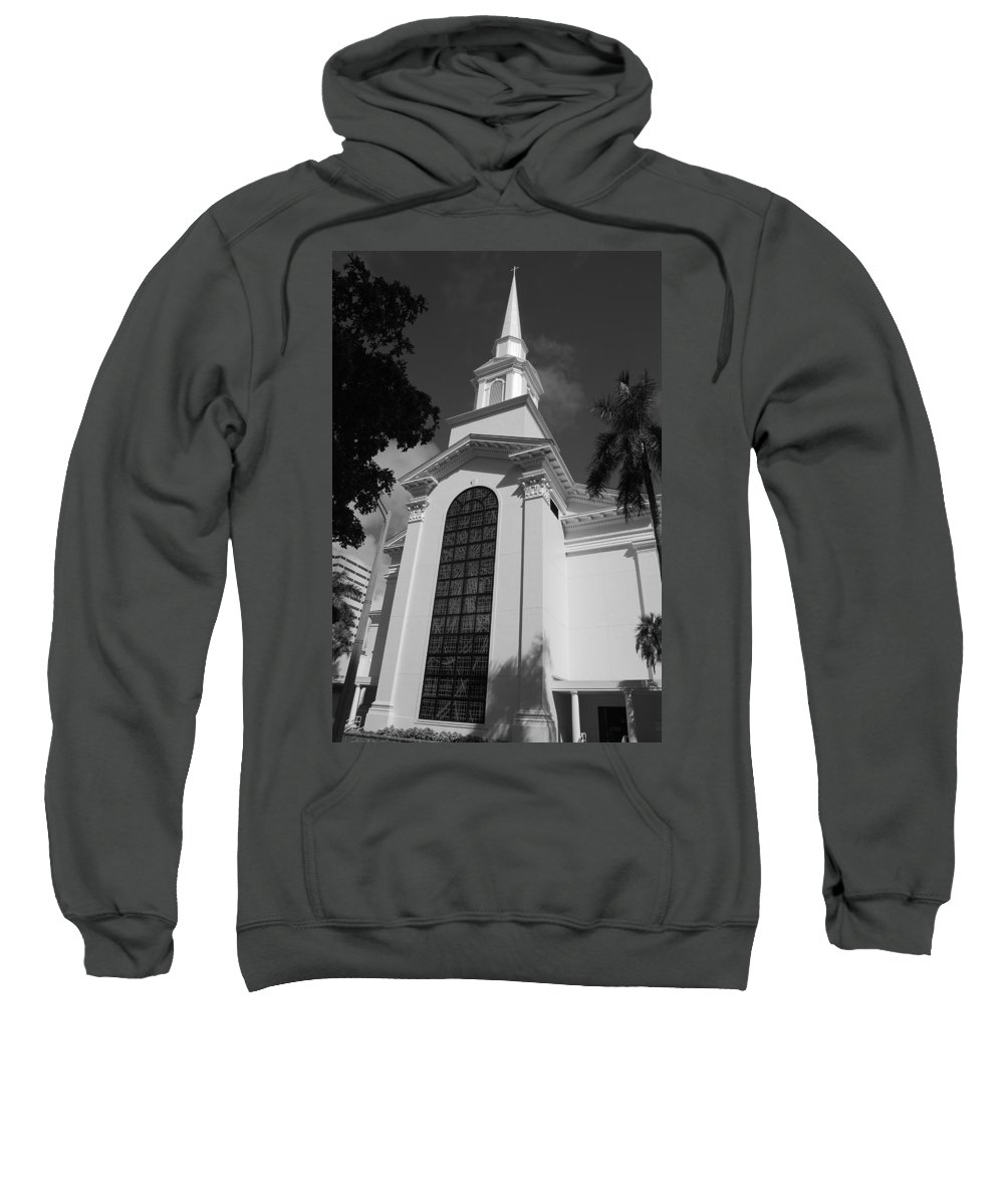 Architecture Sweatshirt featuring the photograph Thats Church by Rob Hans