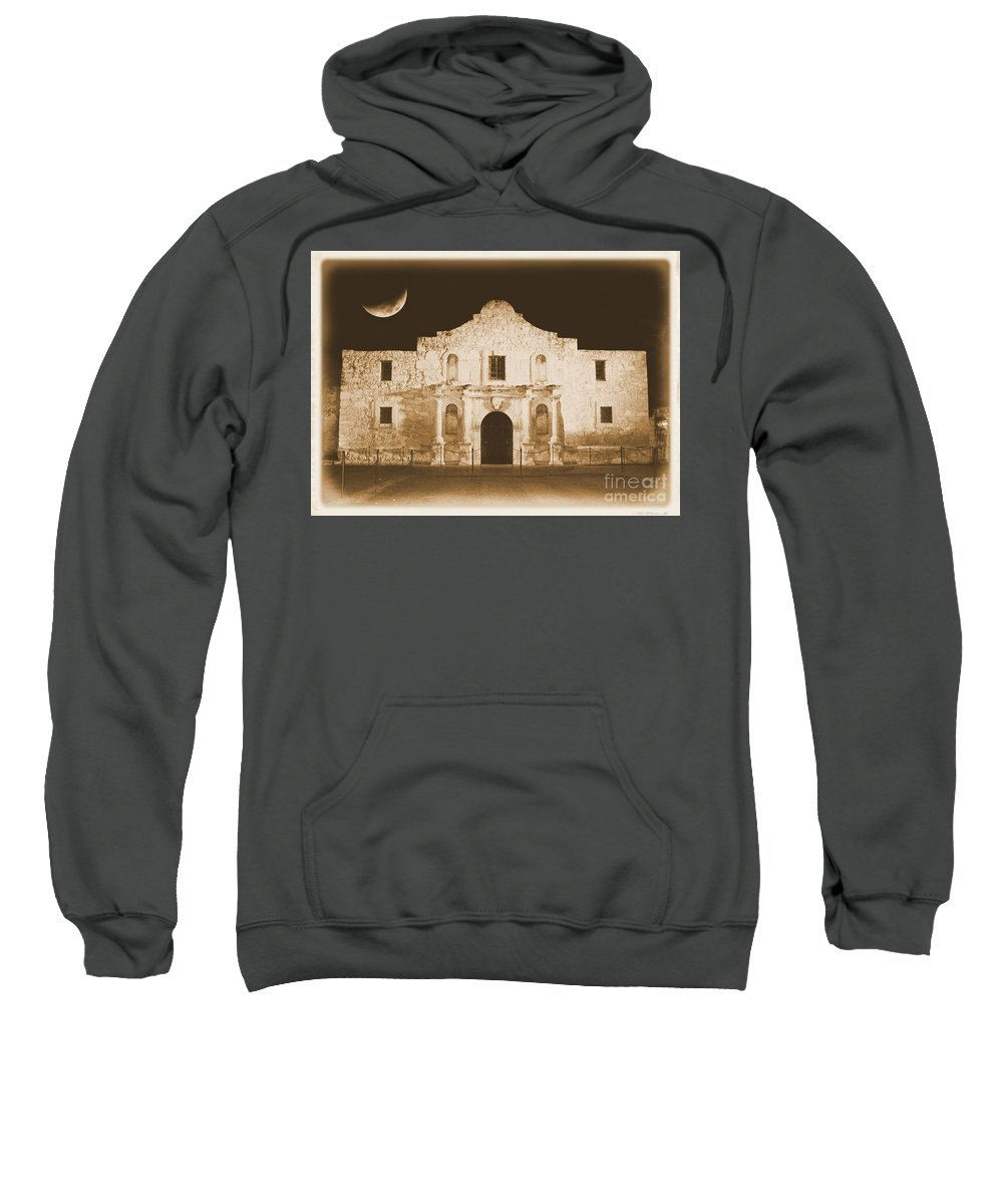 The Alamo Sweatshirt featuring the photograph The Alamo Greeting Card by Carol Groenen