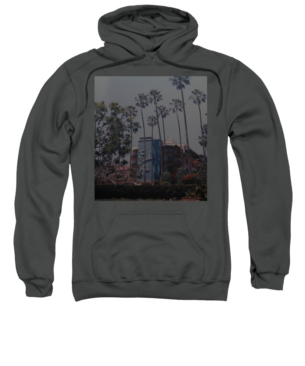Beverly Hills Sweatshirt featuring the photograph The Beverly Hills Hotel by Rob Hans