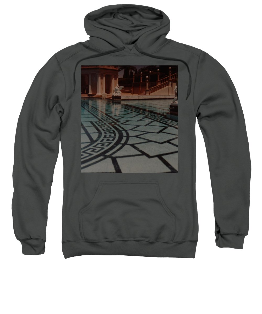 Sculpture Sweatshirt featuring the photograph The Biggest Pool by Rob Hans