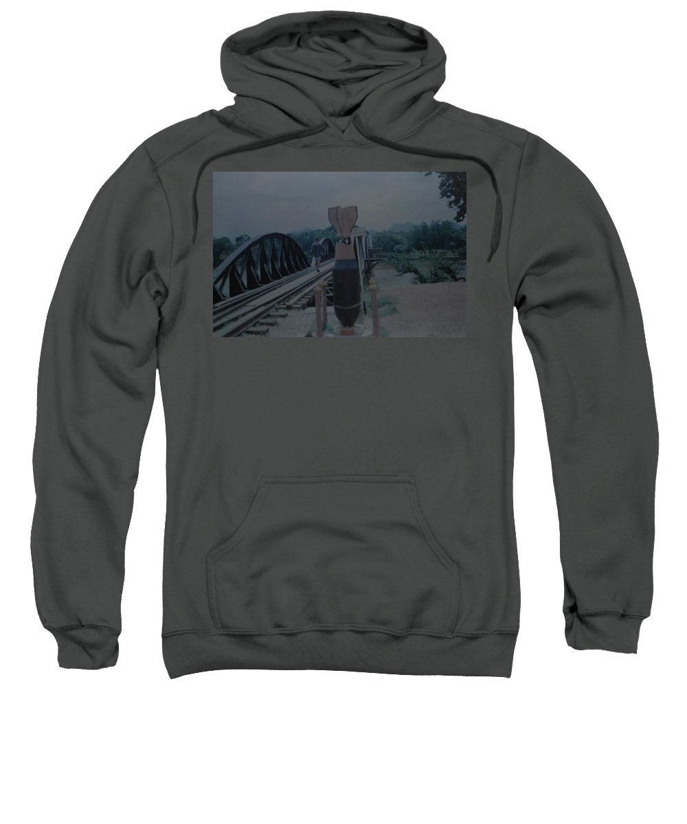 Bridge Sweatshirt featuring the photograph The Bridge On The River Kwai by Rob Hans
