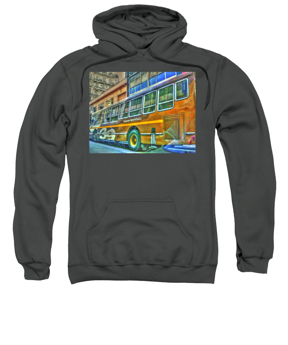 Bus Sweatshirt featuring the photograph The Bus by Francisco Colon